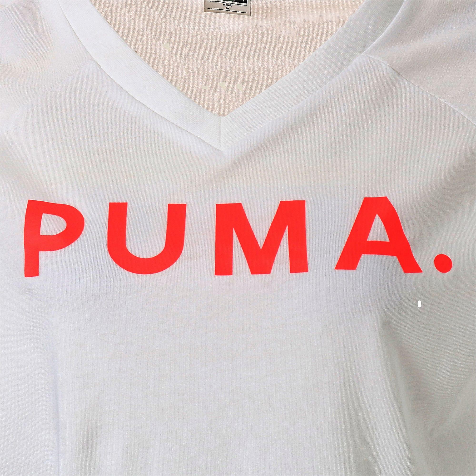 Thumbnail 10 of CHASE V SS ウィメンズ Tシャツ 半袖, Puma White, medium-JPN