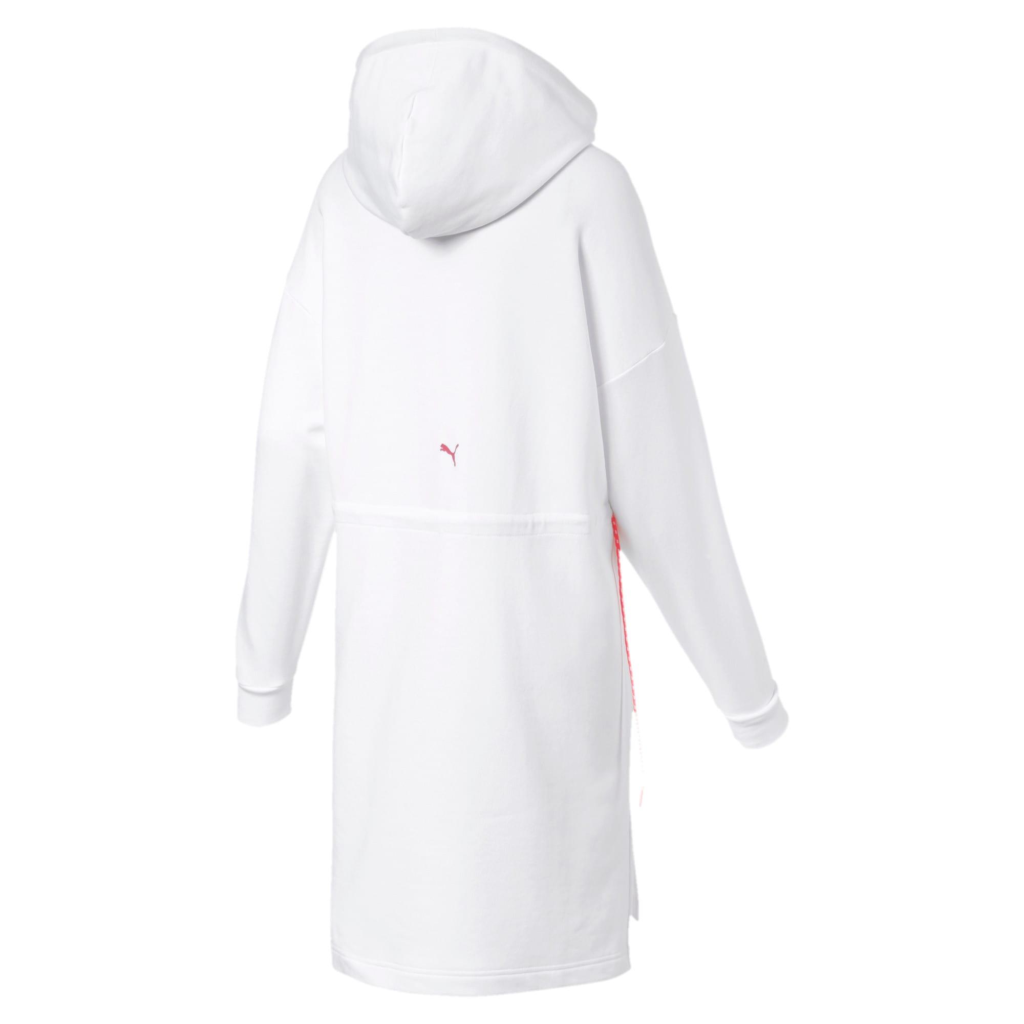 Thumbnail 6 of CHASE ウィメンズ フーデッドドレス, Puma White, medium-JPN