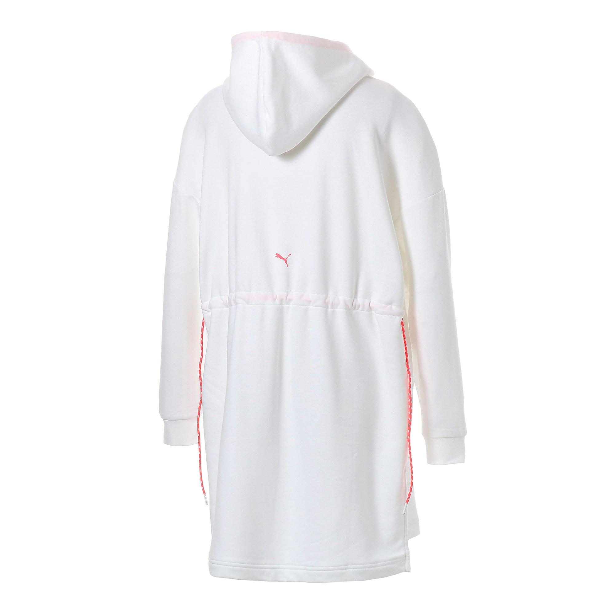 Thumbnail 12 of CHASE ウィメンズ フーデッドドレス, Puma White, medium-JPN