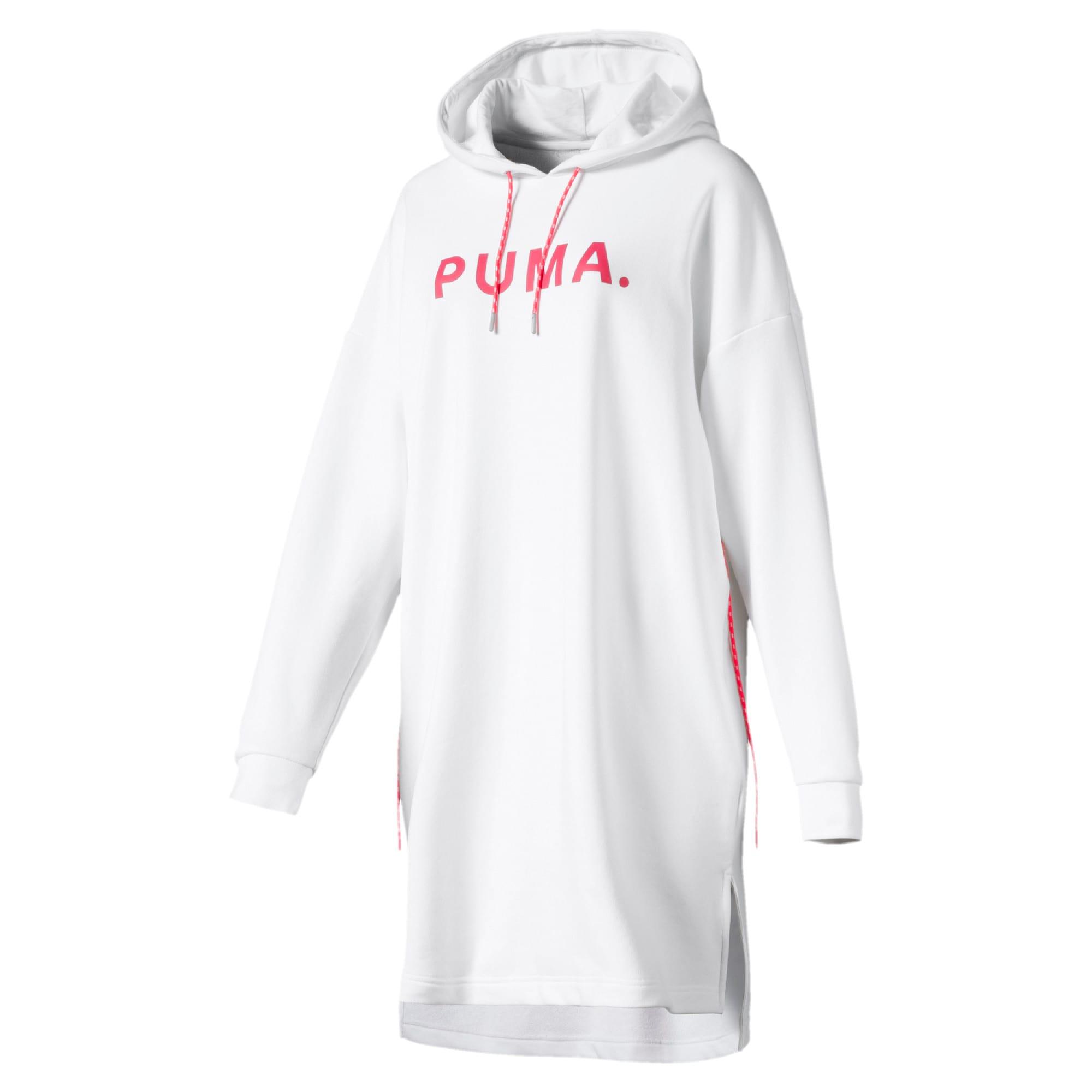 Thumbnail 1 of CHASE ウィメンズ フーデッドドレス, Puma White, medium-JPN