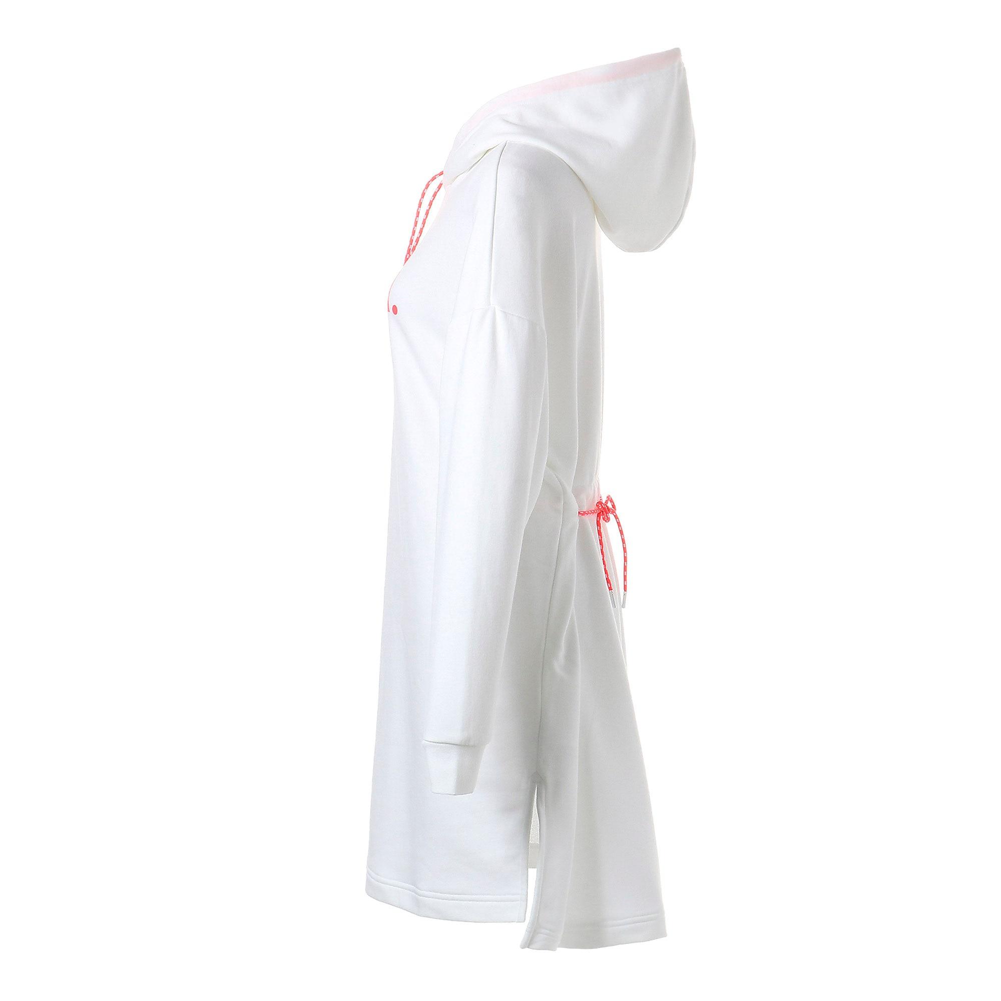 Thumbnail 5 of CHASE ウィメンズ フーデッドドレス, Puma White, medium-JPN