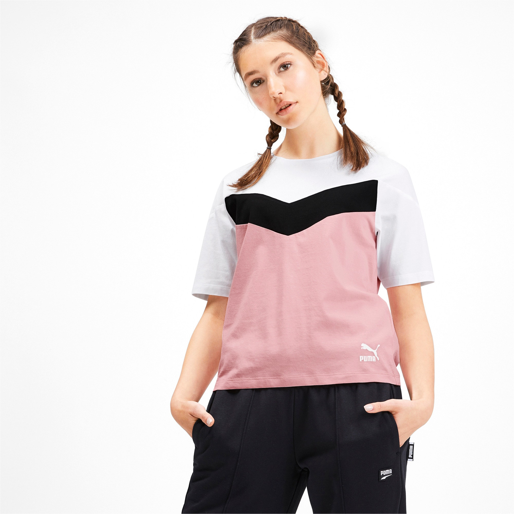 Thumbnail 2 of プーマ XTG ウィメンズ CB SS Tシャツ 半袖, Bridal Rose, medium-JPN