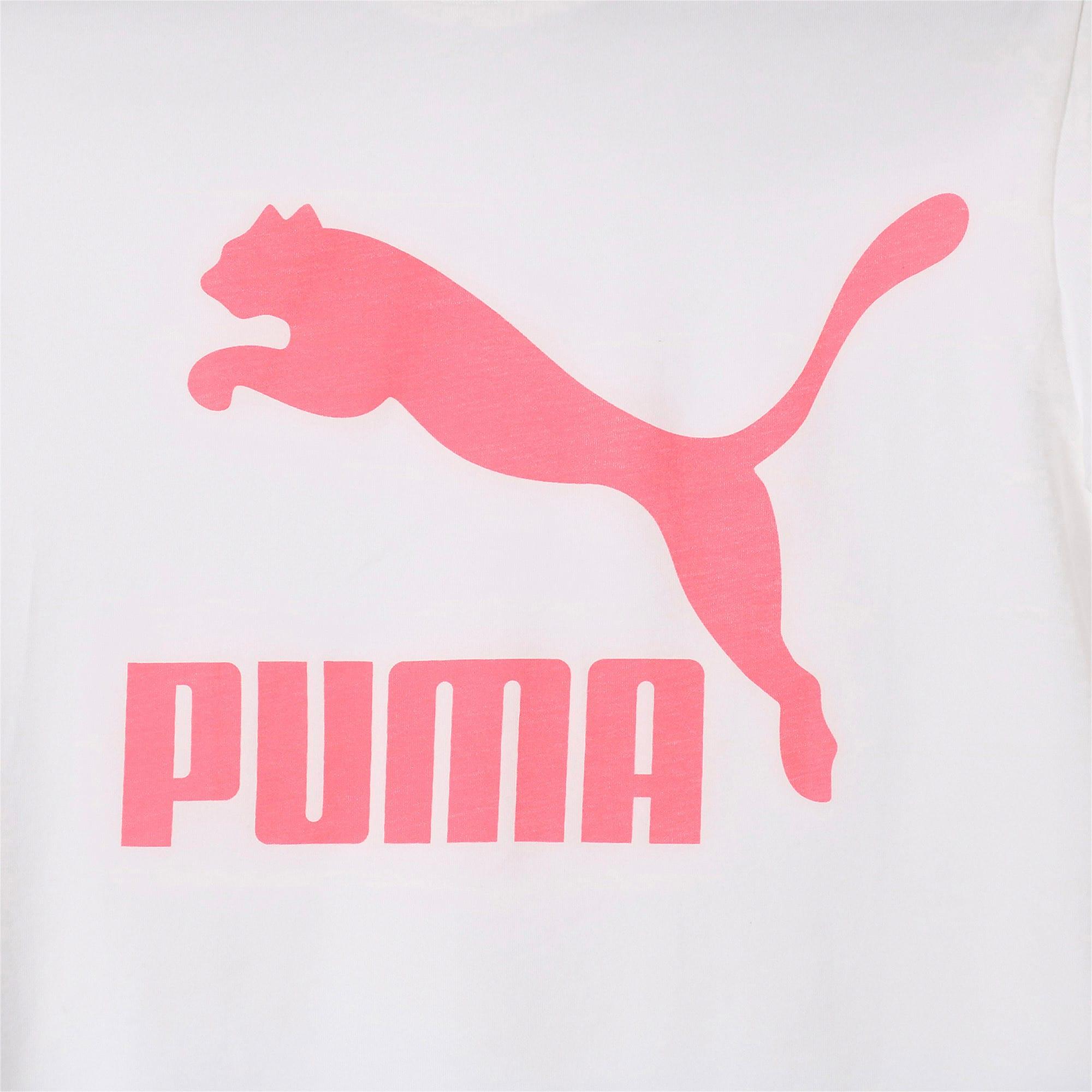Thumbnail 7 of CLASSICS ロゴ ウィメンズ SS Tシャツ, Puma White, medium-JPN
