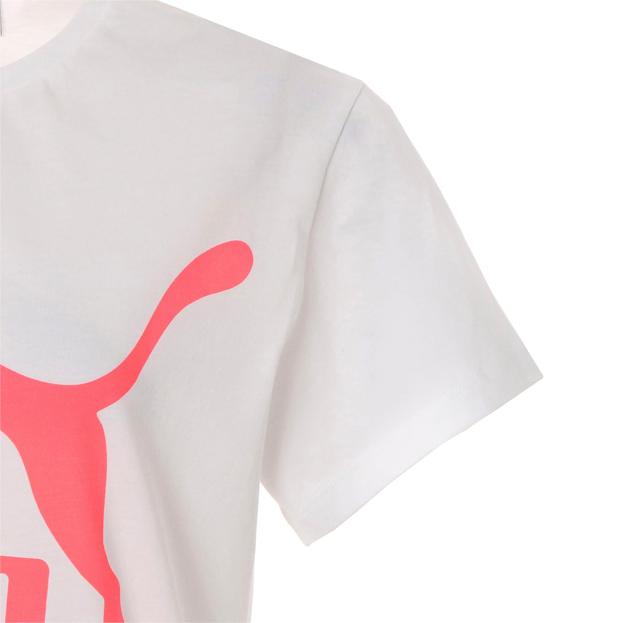 Thumbnail 8 of CLASSICS ロゴ ウィメンズ SS Tシャツ, Puma White, medium-JPN