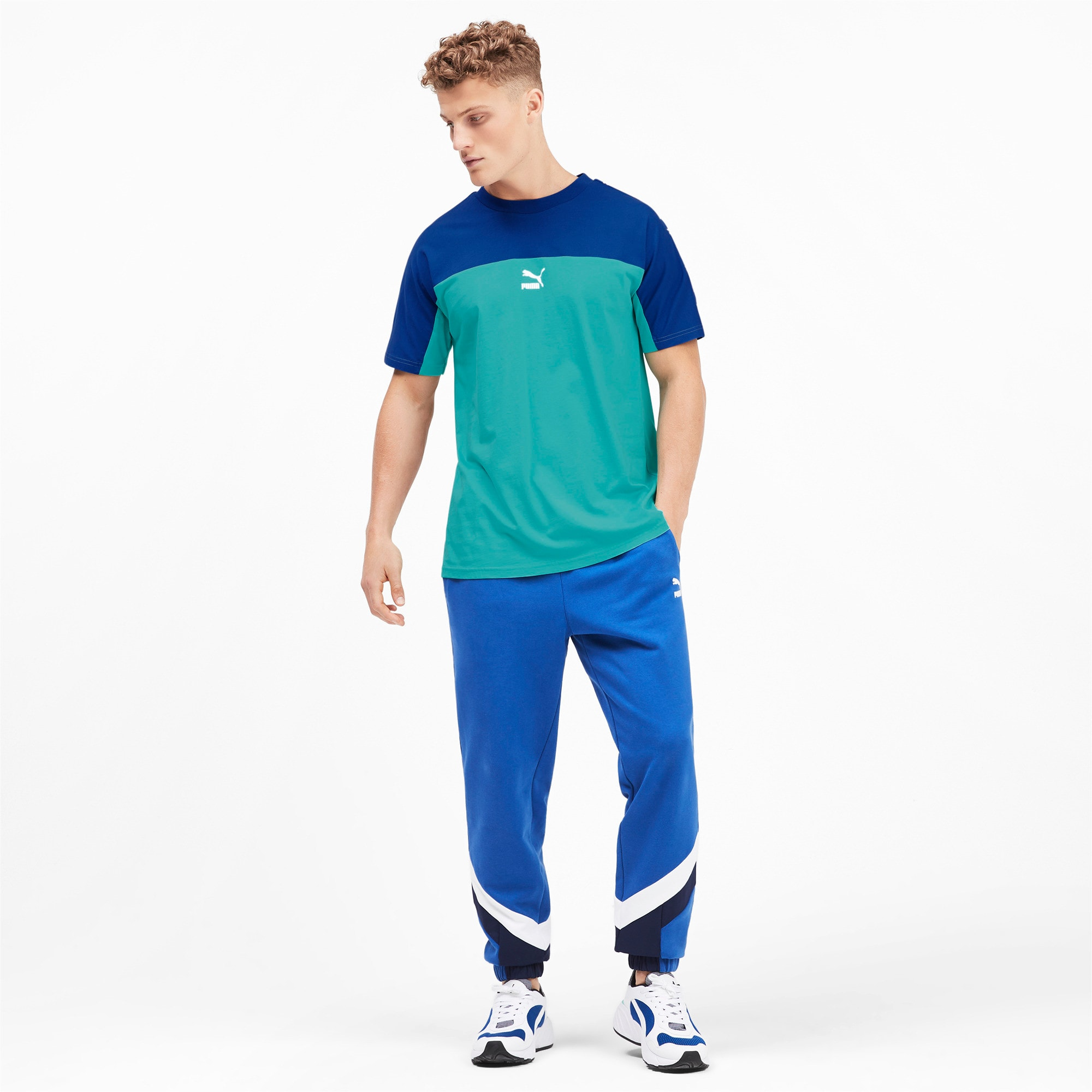 Thumbnail 4 of PUMA XTG SS Tシャツ 半袖, Blue Turquoise, medium-JPN