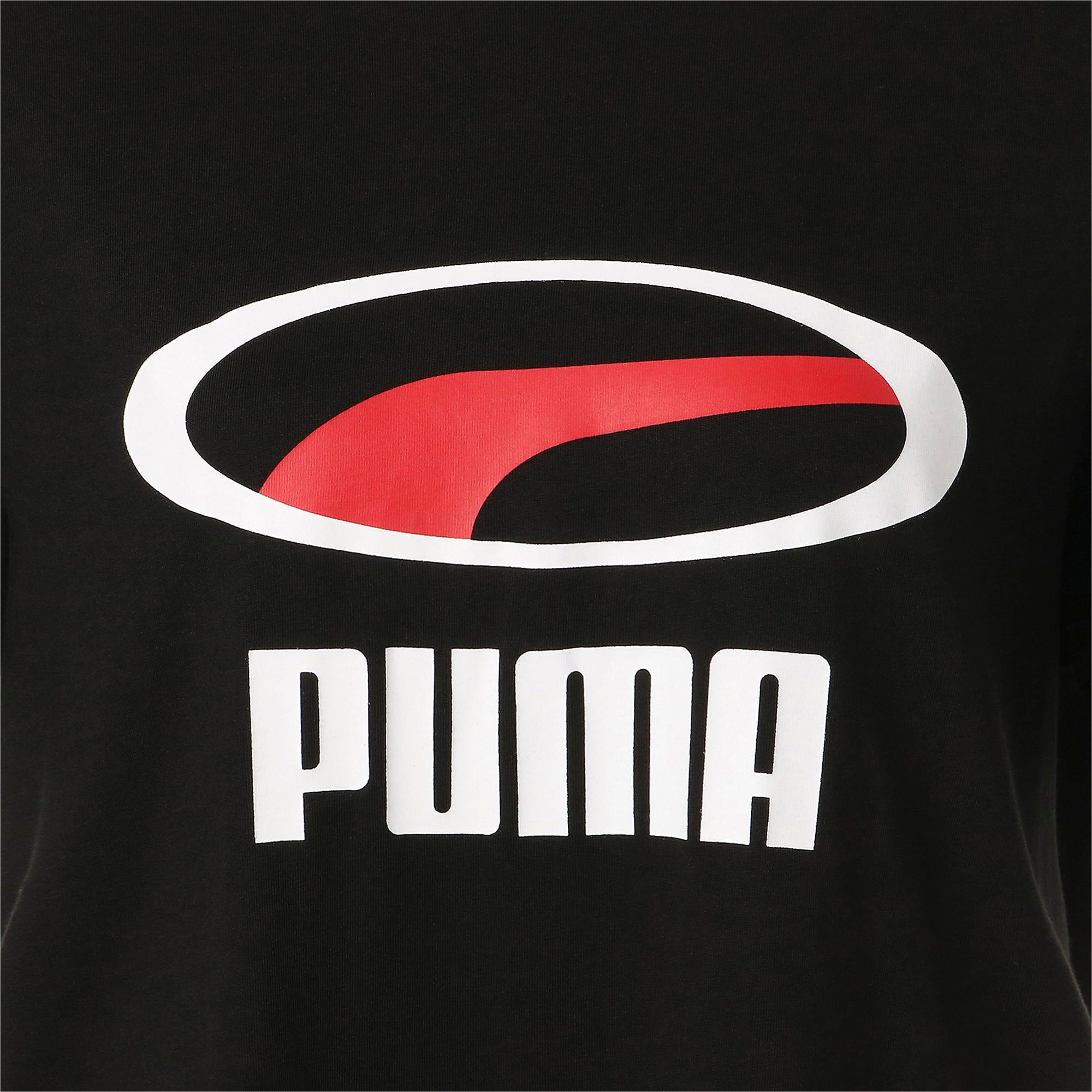 Thumbnail 10 of PUMA XTG グラフィック SS Tシャツ, Puma Black, medium-JPN