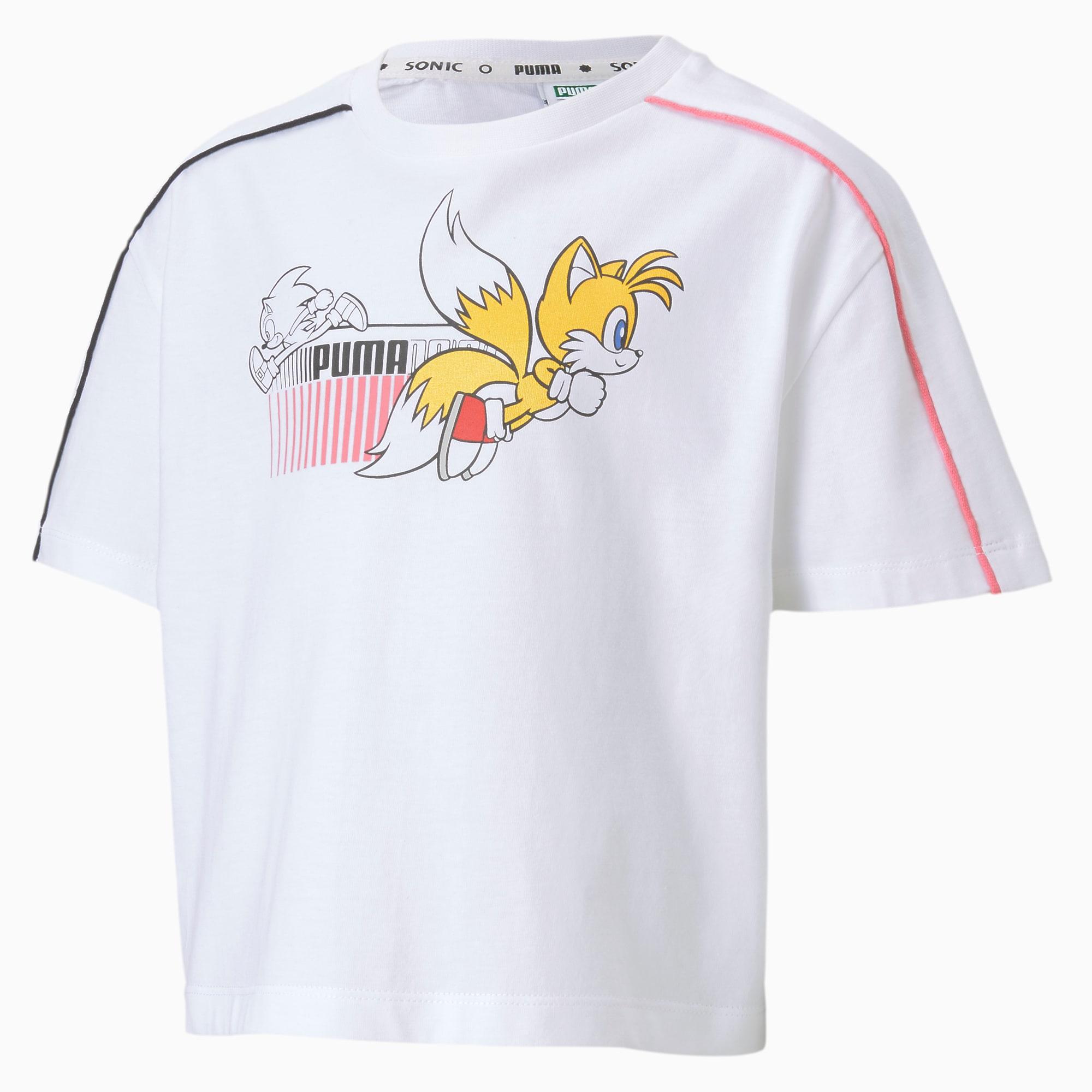 PUMA x SONIC T shirt til piger