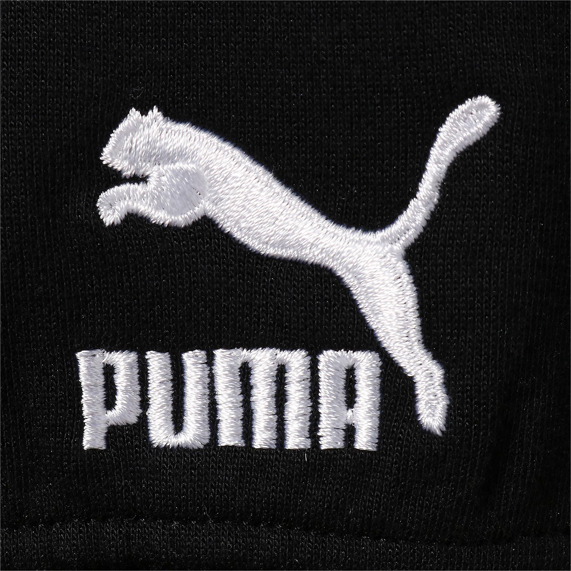 Thumbnail 4 of COLOUR BLOCK ジップアップ フーディ, Puma Black, medium-JPN