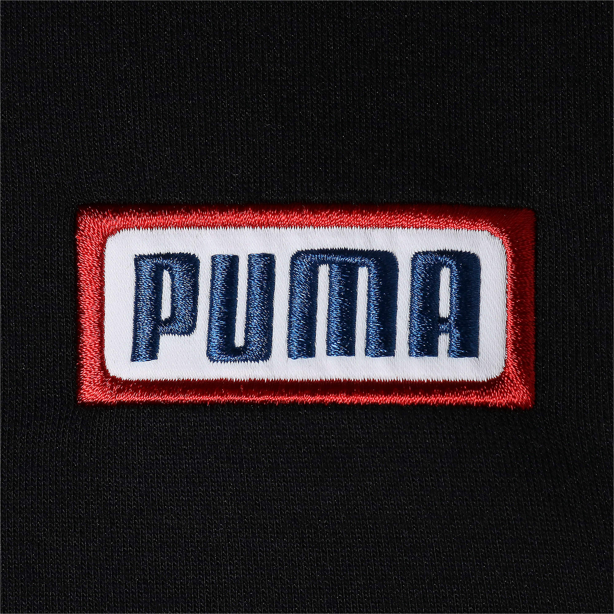 Thumbnail 8 of COLOUR BLOCK ジップアップ フーディ, Puma Black, medium-JPN