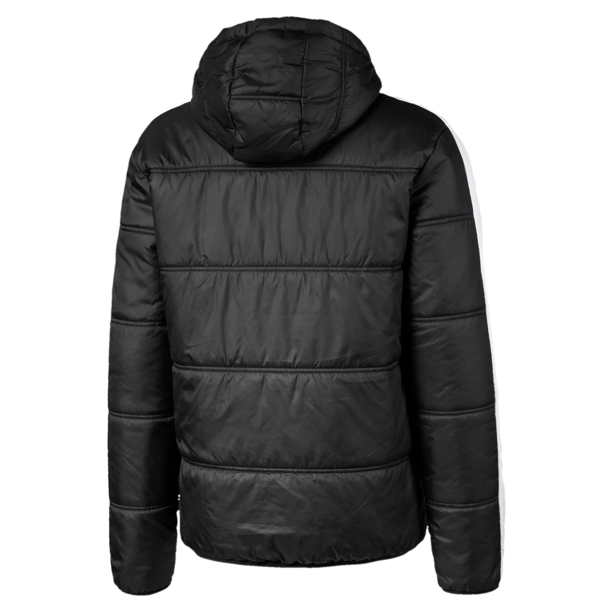 Thumbnail 2 of Classics T7 Padded Men's Jacket, Puma Black, medium
