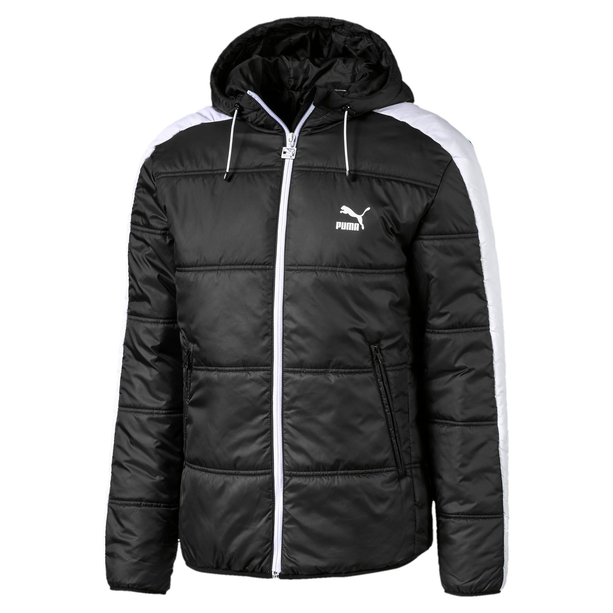 Thumbnail 1 of Classics T7 Padded Men's Jacket, Puma Black, medium