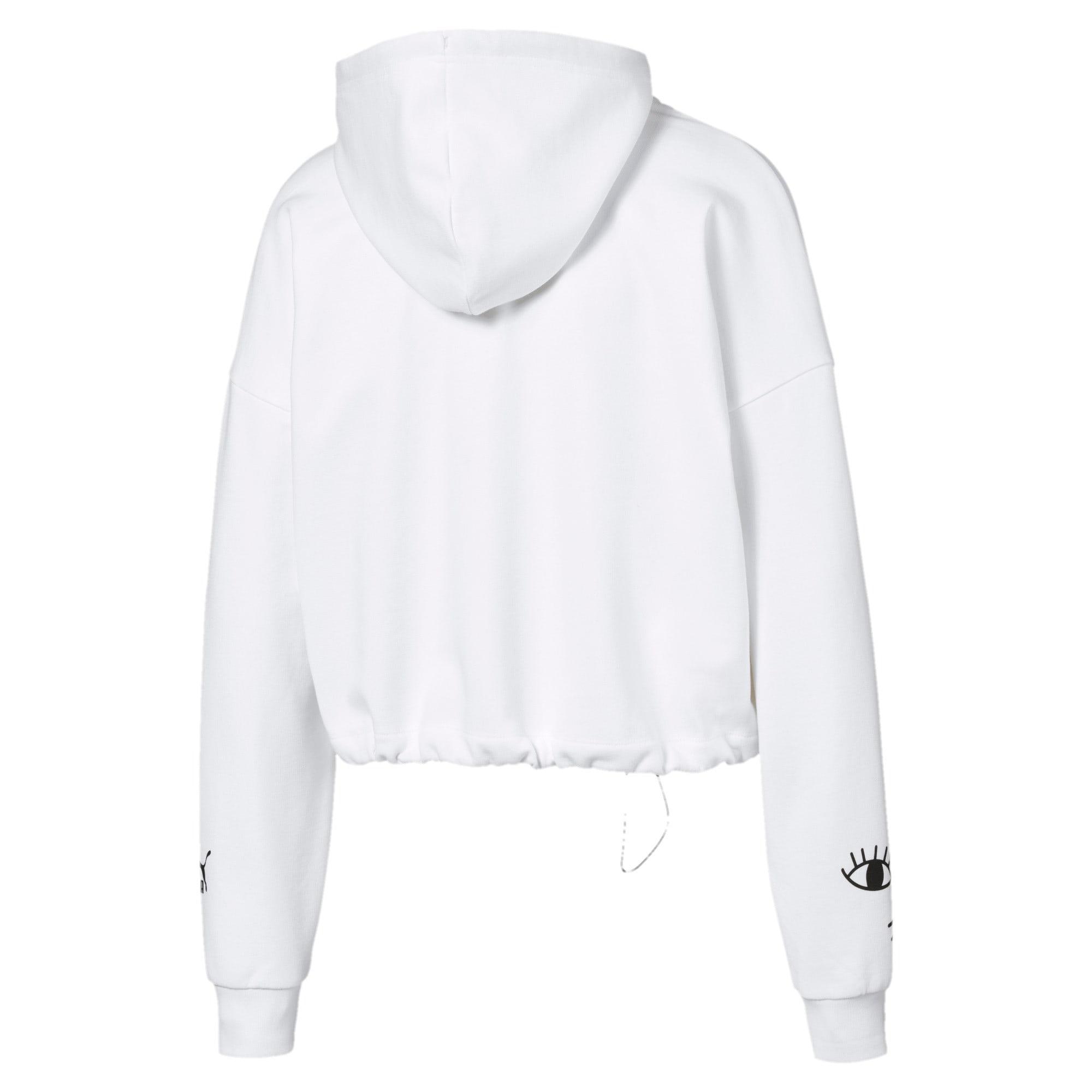 Thumbnail 2 van PUMA x MAYBELLINE hoodie voor vrouwen, Puma White, medium