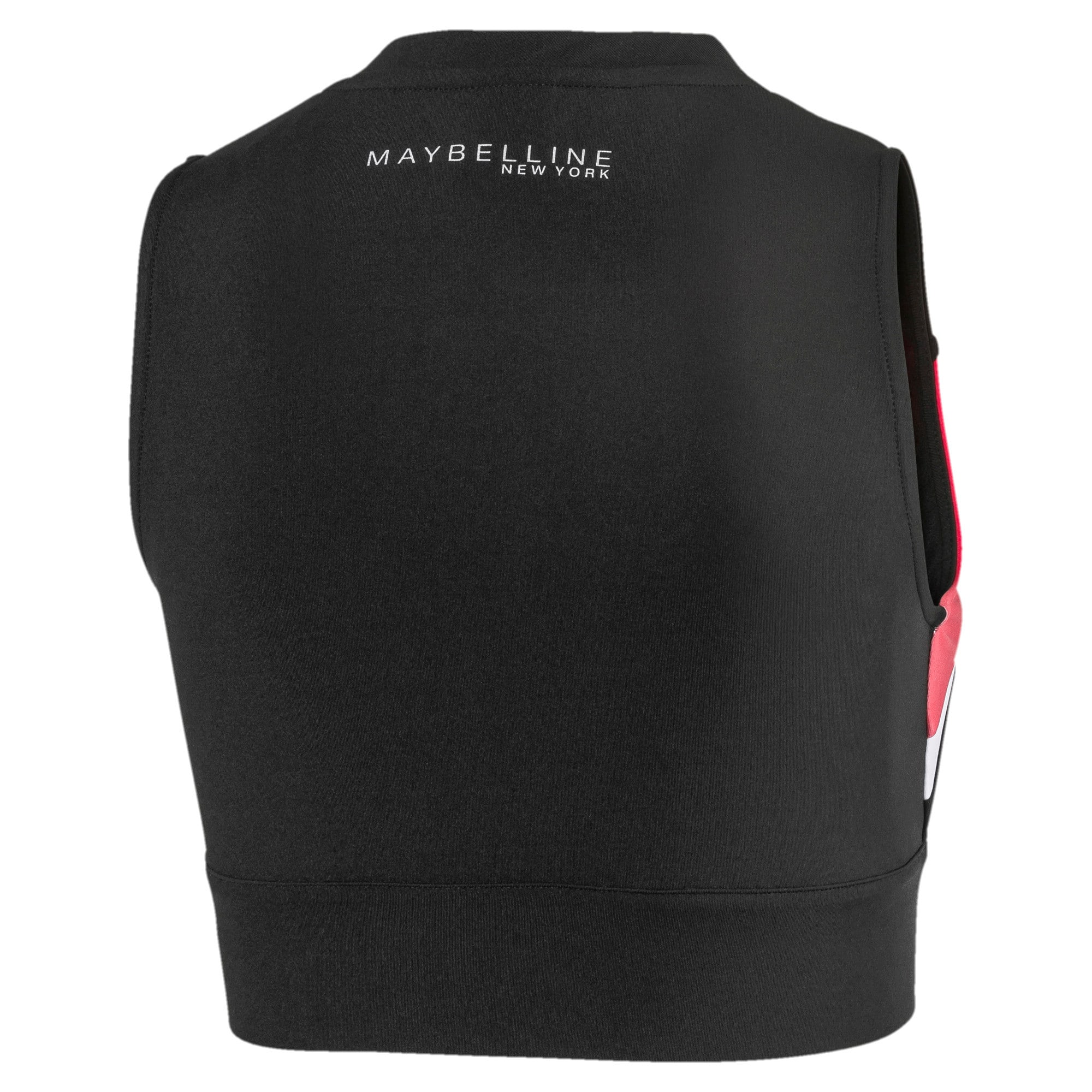 Thumbnail 2 of PUMA x MAYBELLINE Women's Crop Top, Puma Black, medium