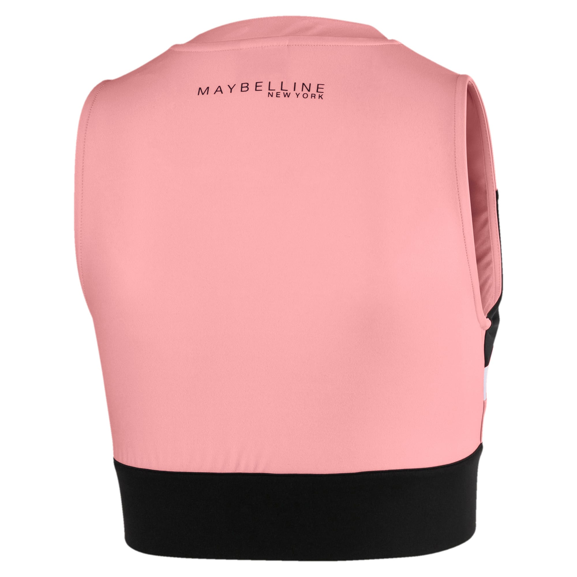 Anteprima 2 di PUMA x MAYBELLINE Women's Crop Top, Powder Pink, medio