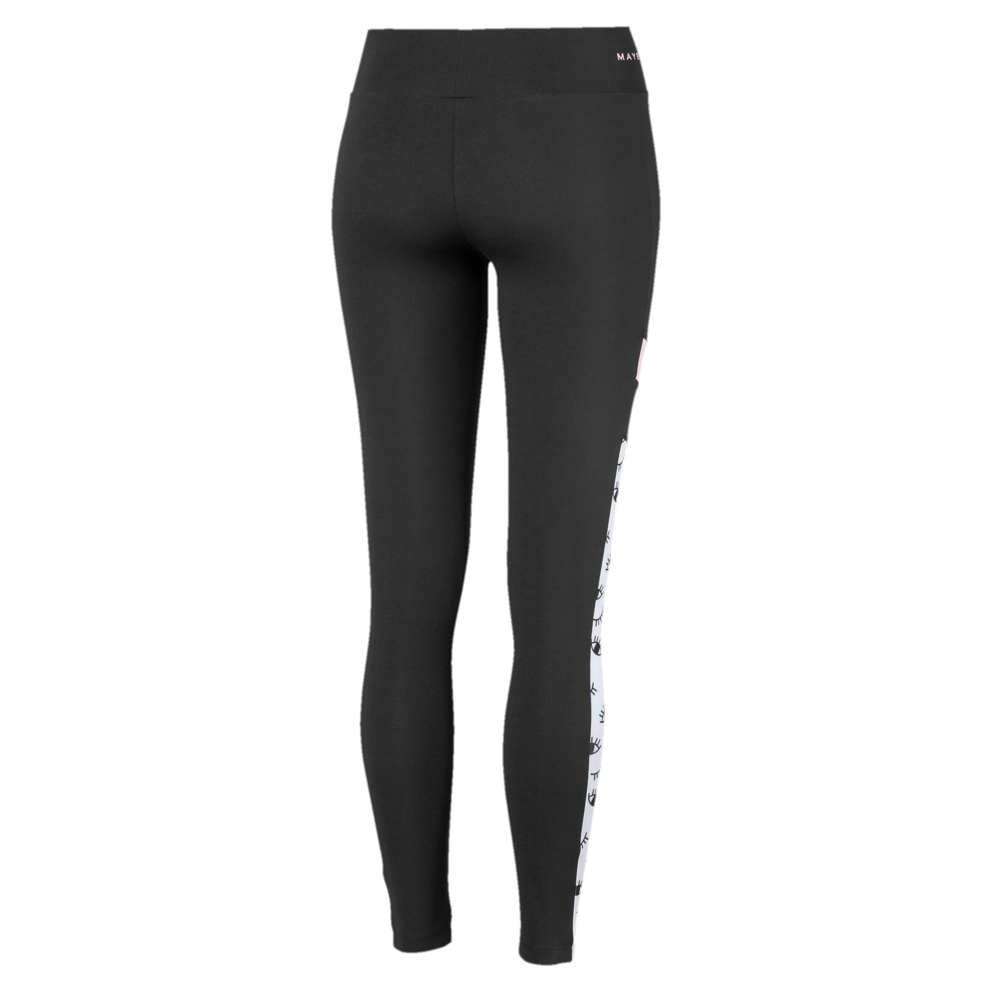 Thumbnail 2 van PUMA x MAYBELLINE legging voor vrouwen, Puma Black, medium