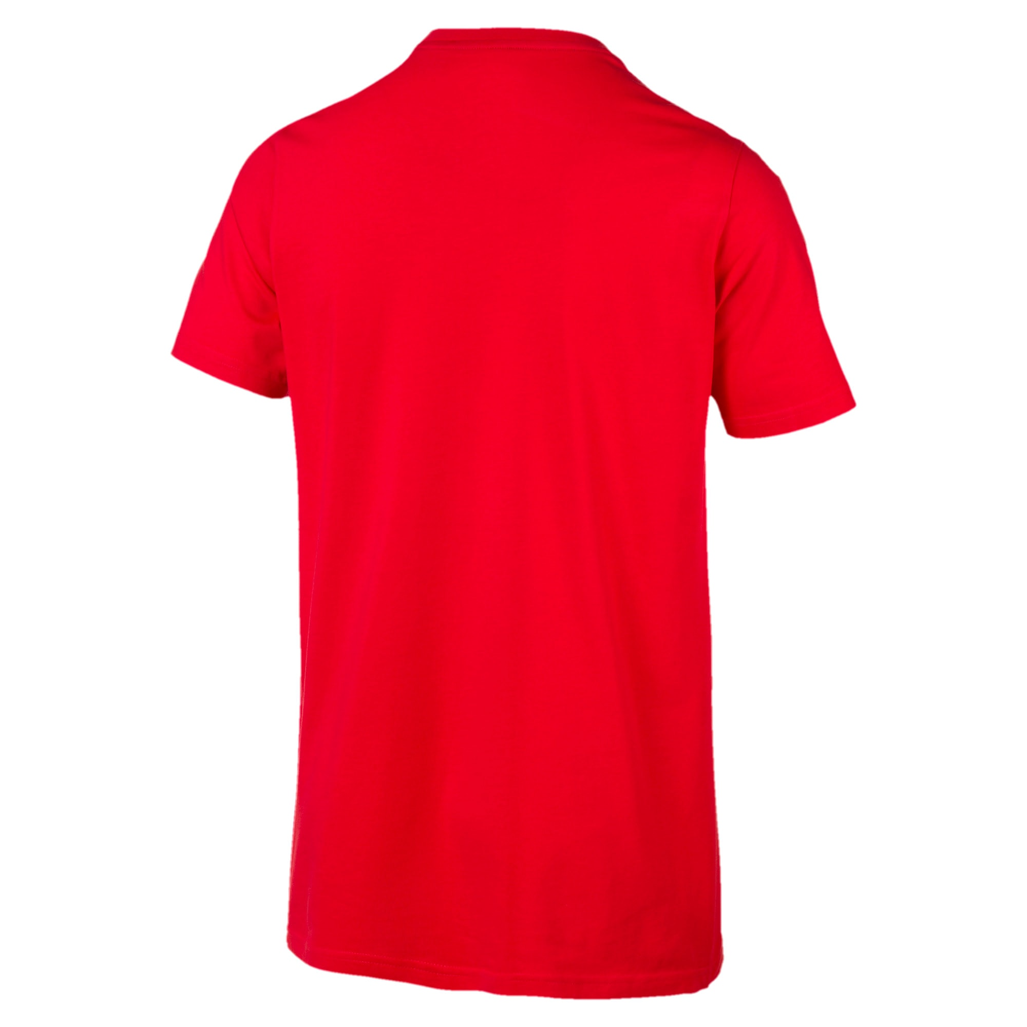 Thumbnail 2 of Classics T-shirt met borduursel voor heren, High Risk Red, medium