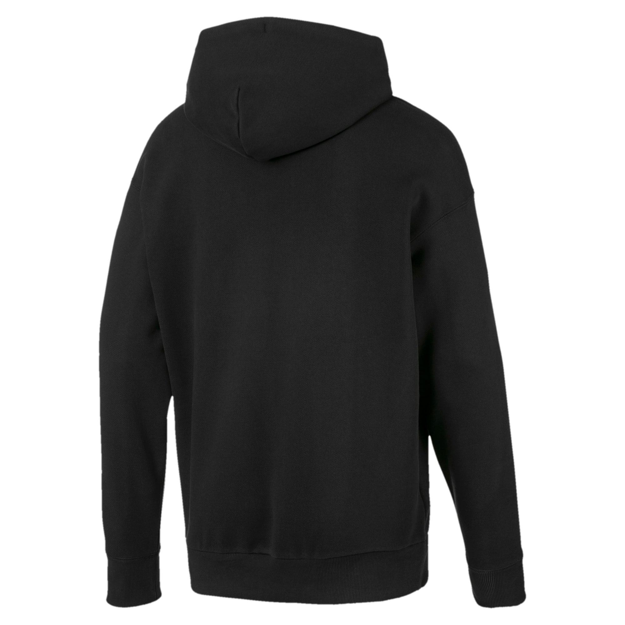 Thumbnail 2 of Heavy Classics hoodie voor heren, Cotton Black, medium
