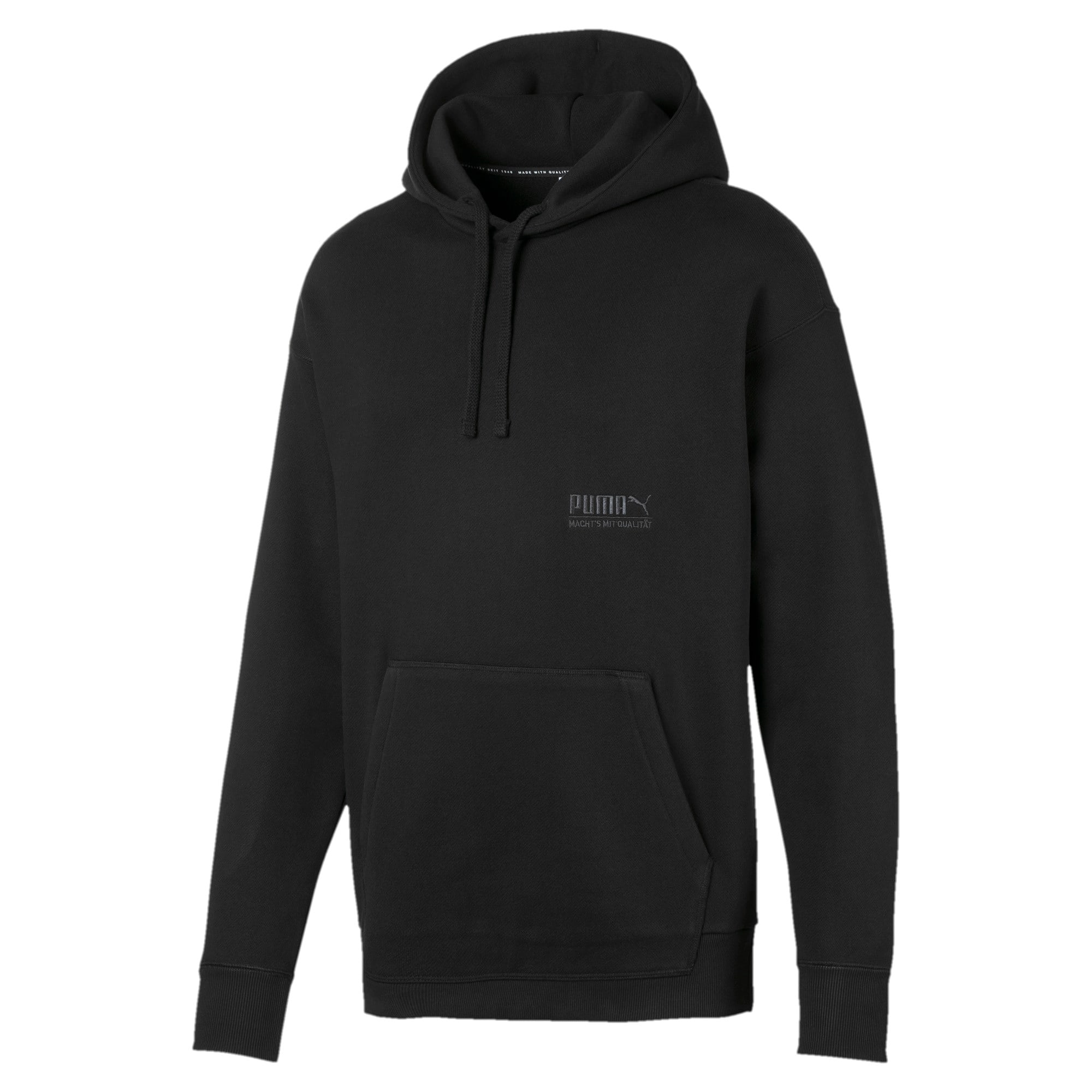 Thumbnail 1 of Heavy Classics hoodie voor heren, Cotton Black, medium
