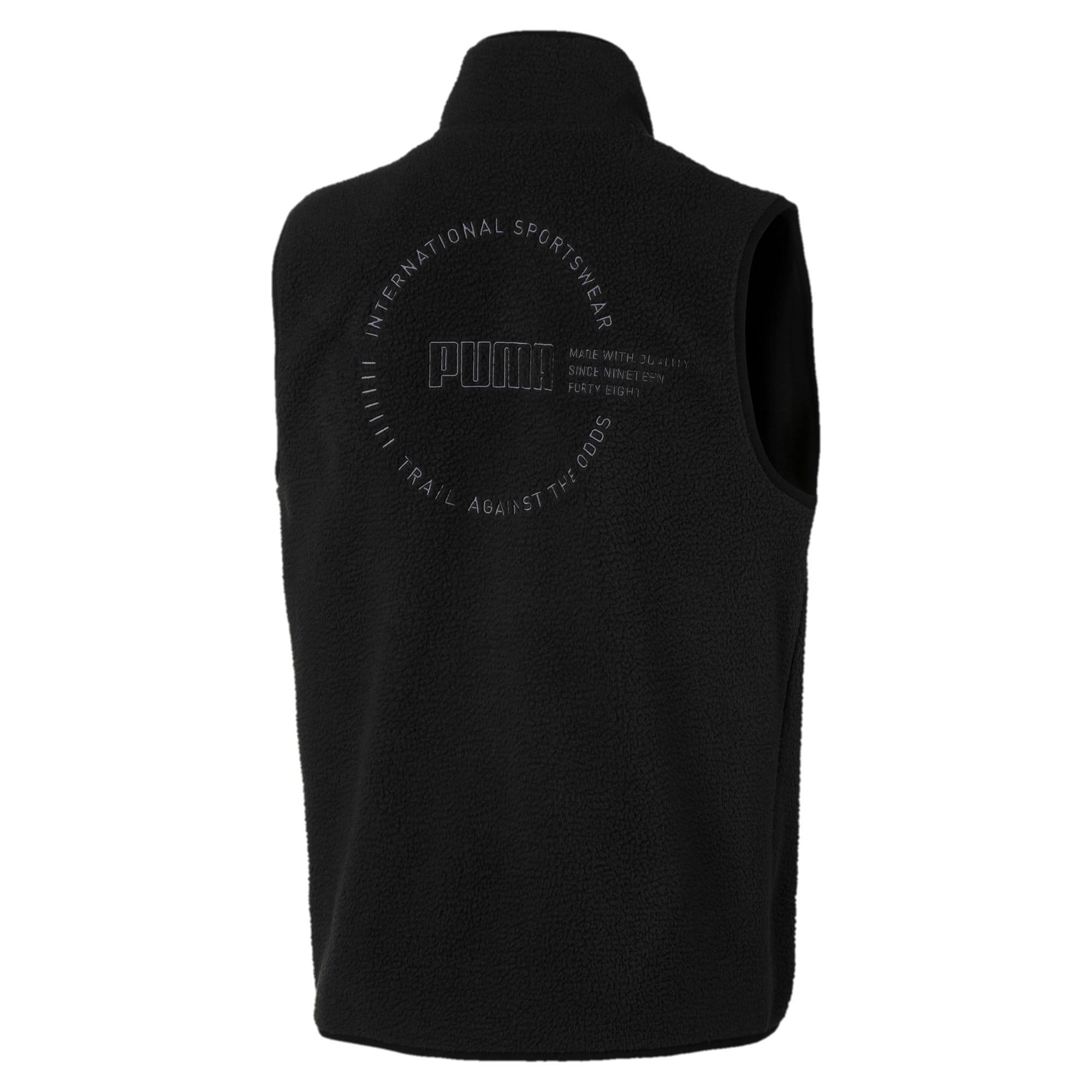Thumbnail 2 of XTG Trail Fleece Full Zip Men's Pocket Gilet, Puma Black, medium