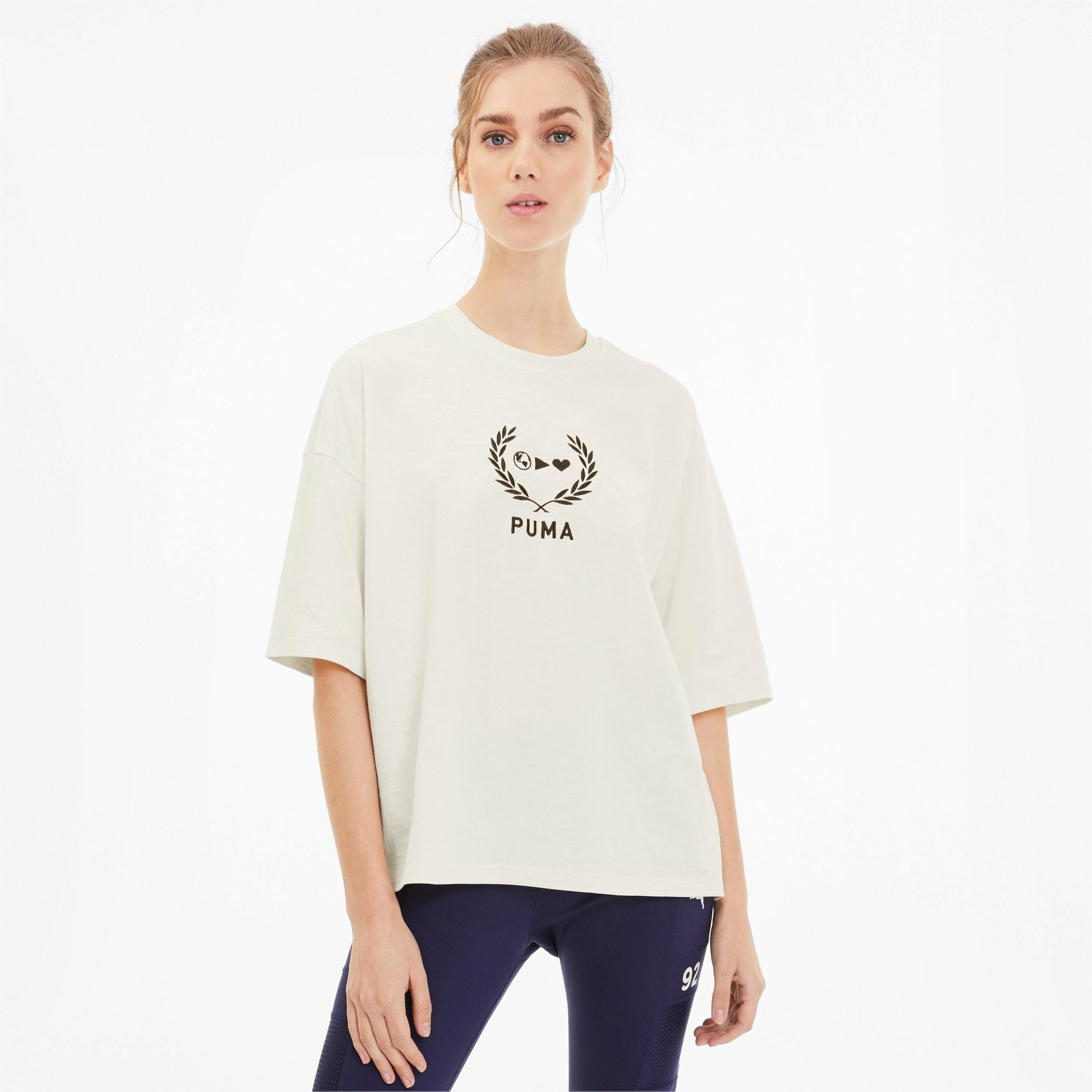 PUMA x SELENA GOMEZ Oversized T shirt til kvinder