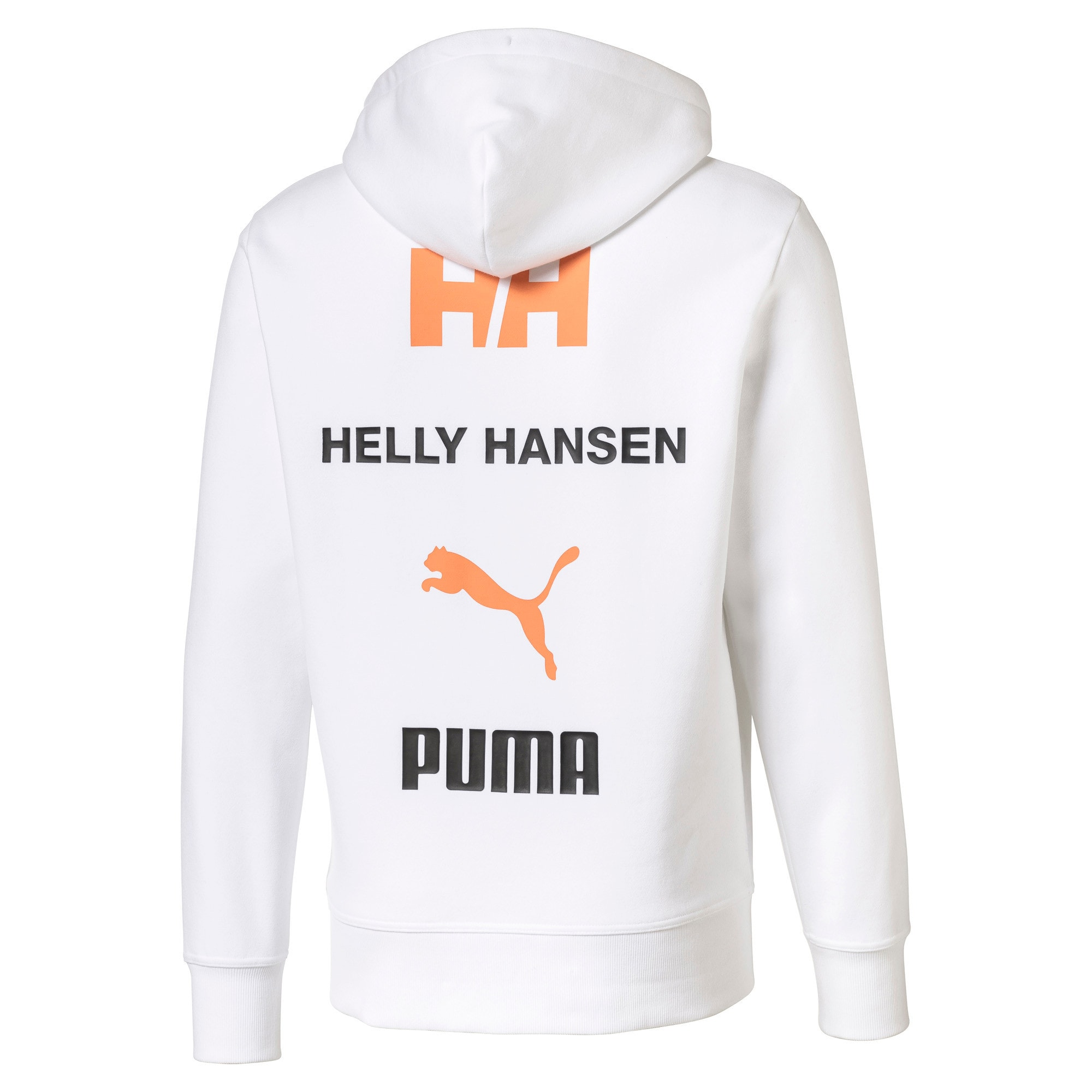 Thumbnail 2 of PUMA x HELLY HANSEN Long Sleeve Hoodie, Puma White, medium