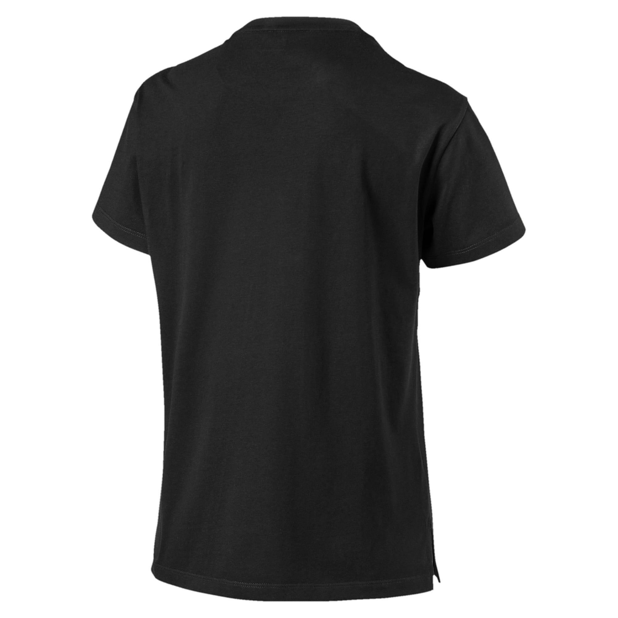 Thumbnail 3 of CLOUD パック ウィメンズ グラフィック Tシャツ, Puma Black, medium-JPN
