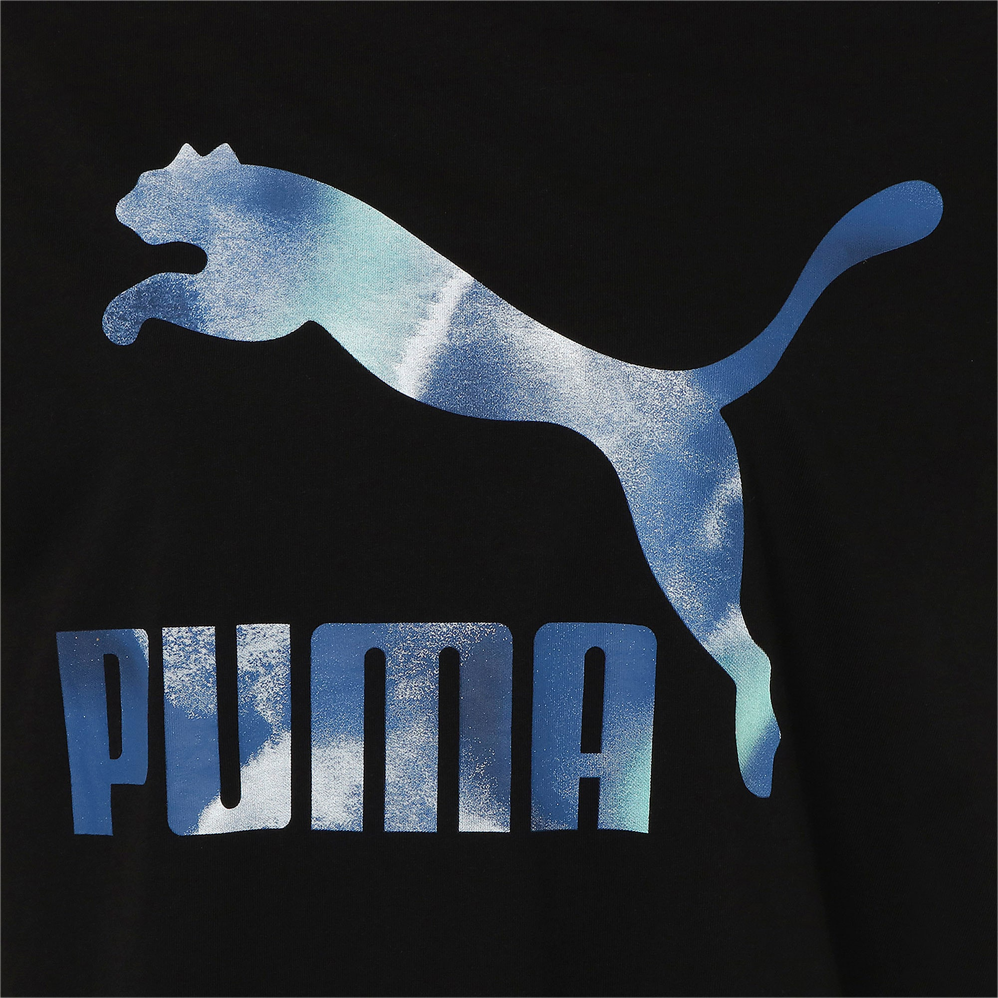 Thumbnail 4 of CLOUD パック ウィメンズ グラフィック Tシャツ, Puma Black, medium-JPN