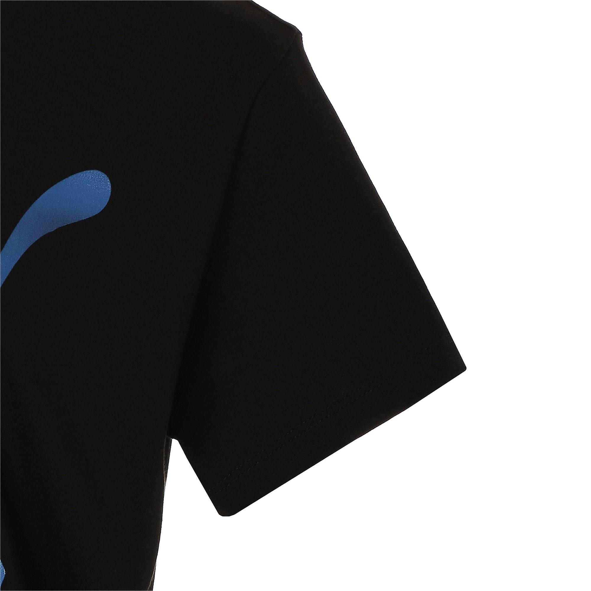 Thumbnail 5 of CLOUD パック ウィメンズ グラフィック Tシャツ, Puma Black, medium-JPN