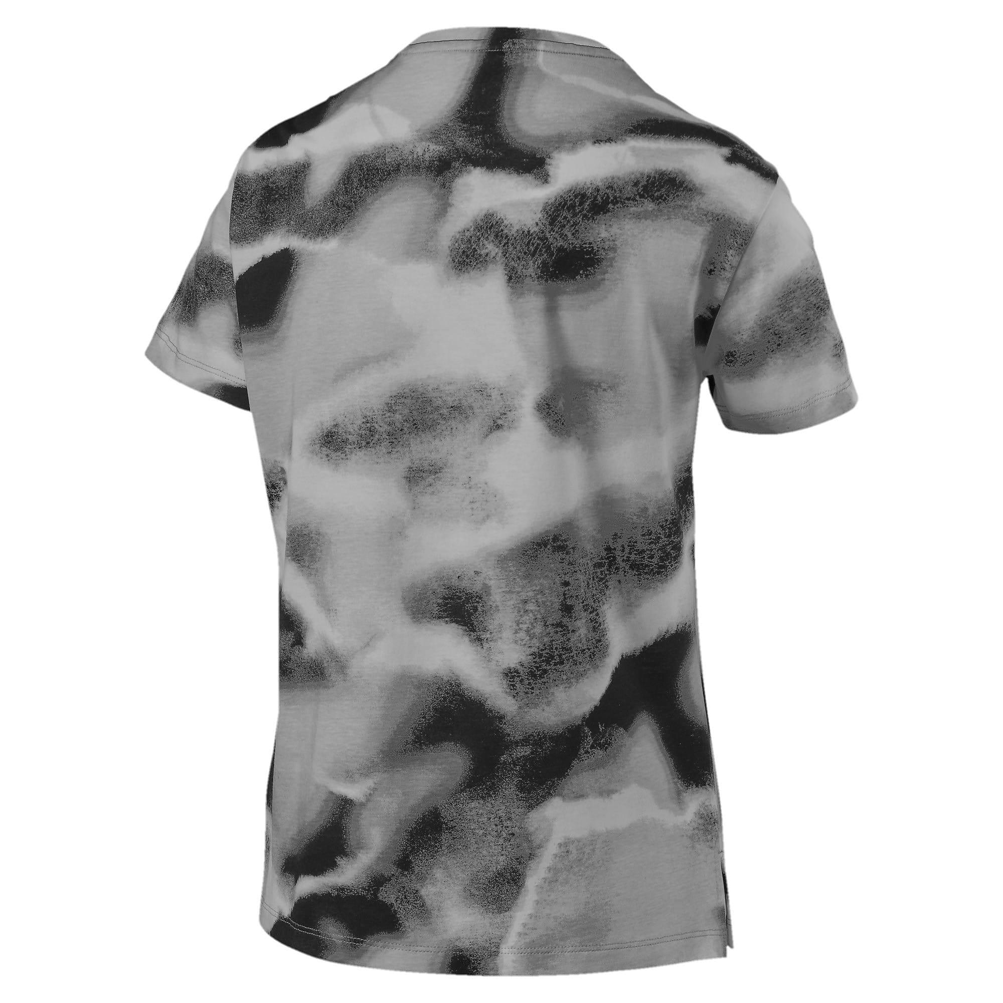 Thumbnail 3 of CLOUD パック ウィメンズ AOP Tシャツ, Puma Black, medium-JPN