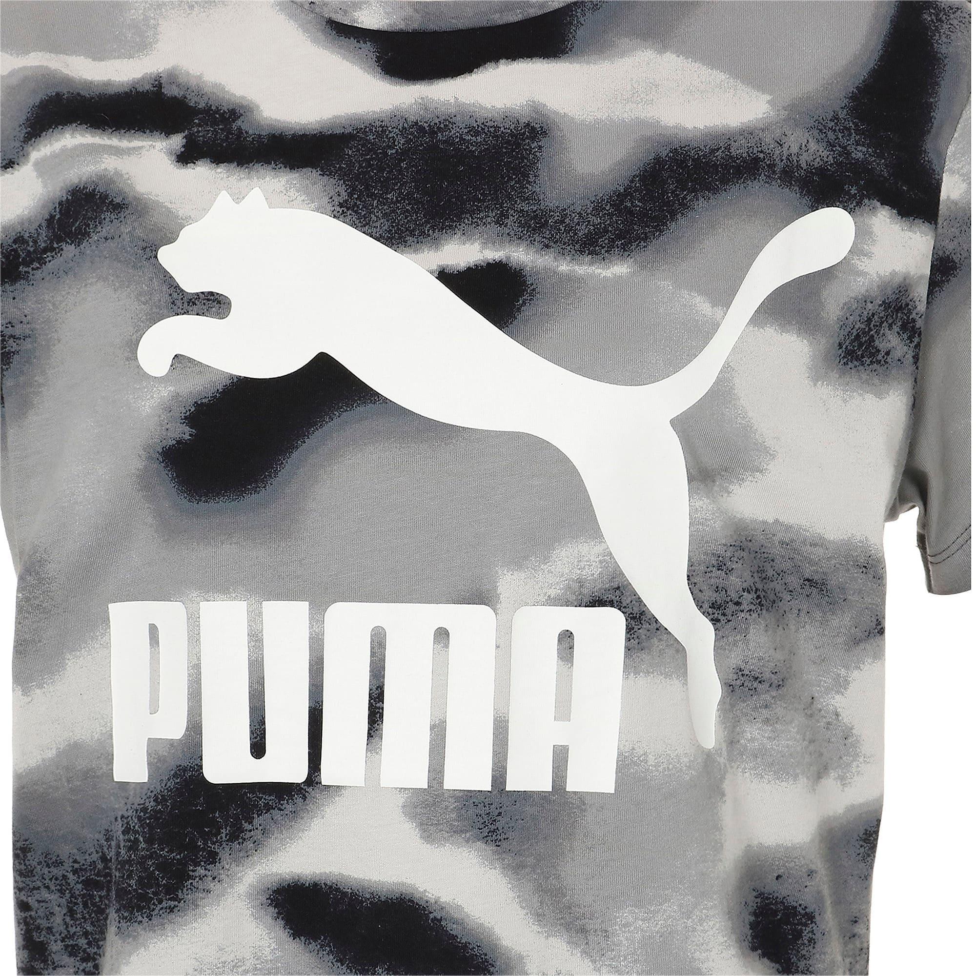 Thumbnail 4 of CLOUD パック ウィメンズ AOP Tシャツ, Puma Black, medium-JPN