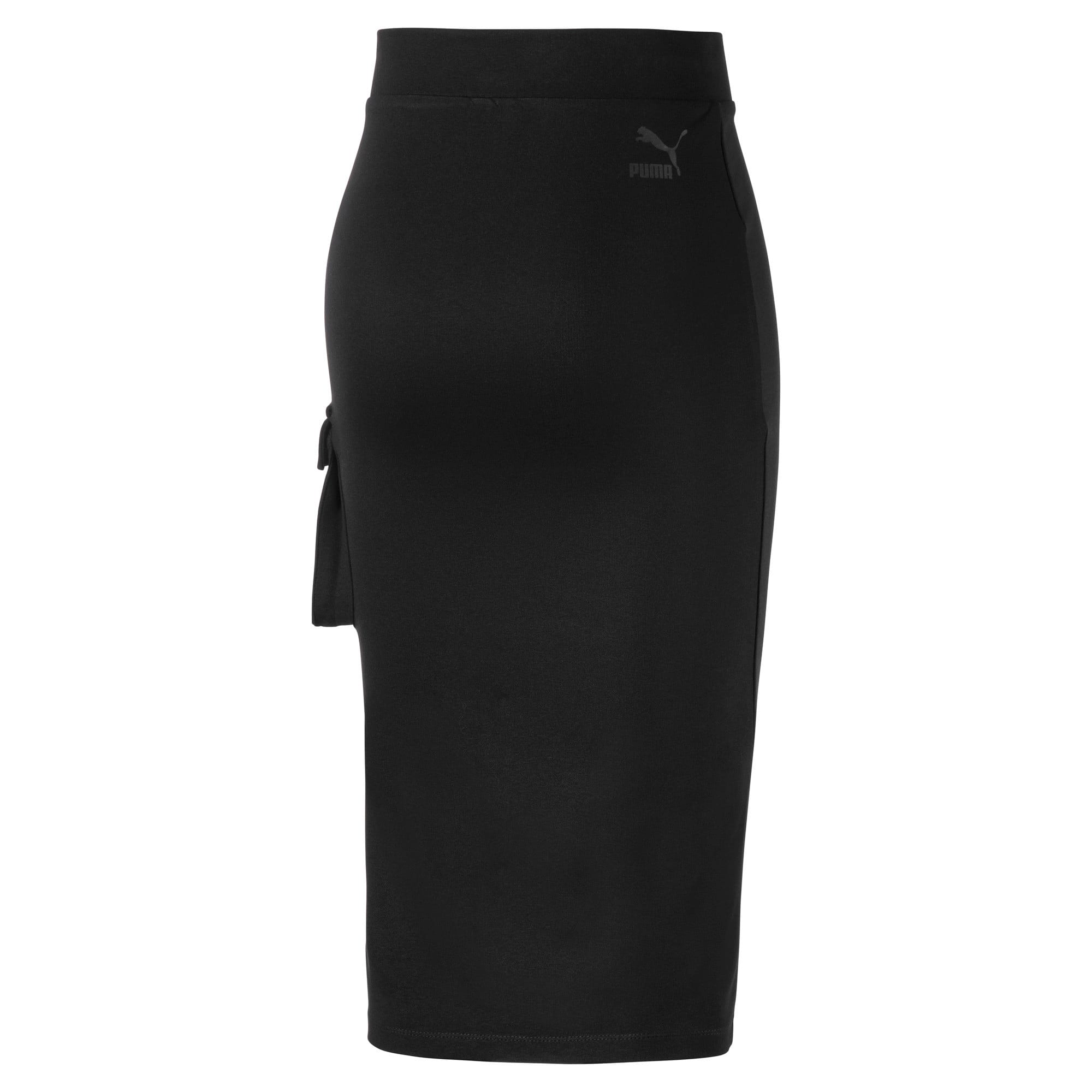 Thumbnail 4 of Damen Midi Rock, Puma Black, medium