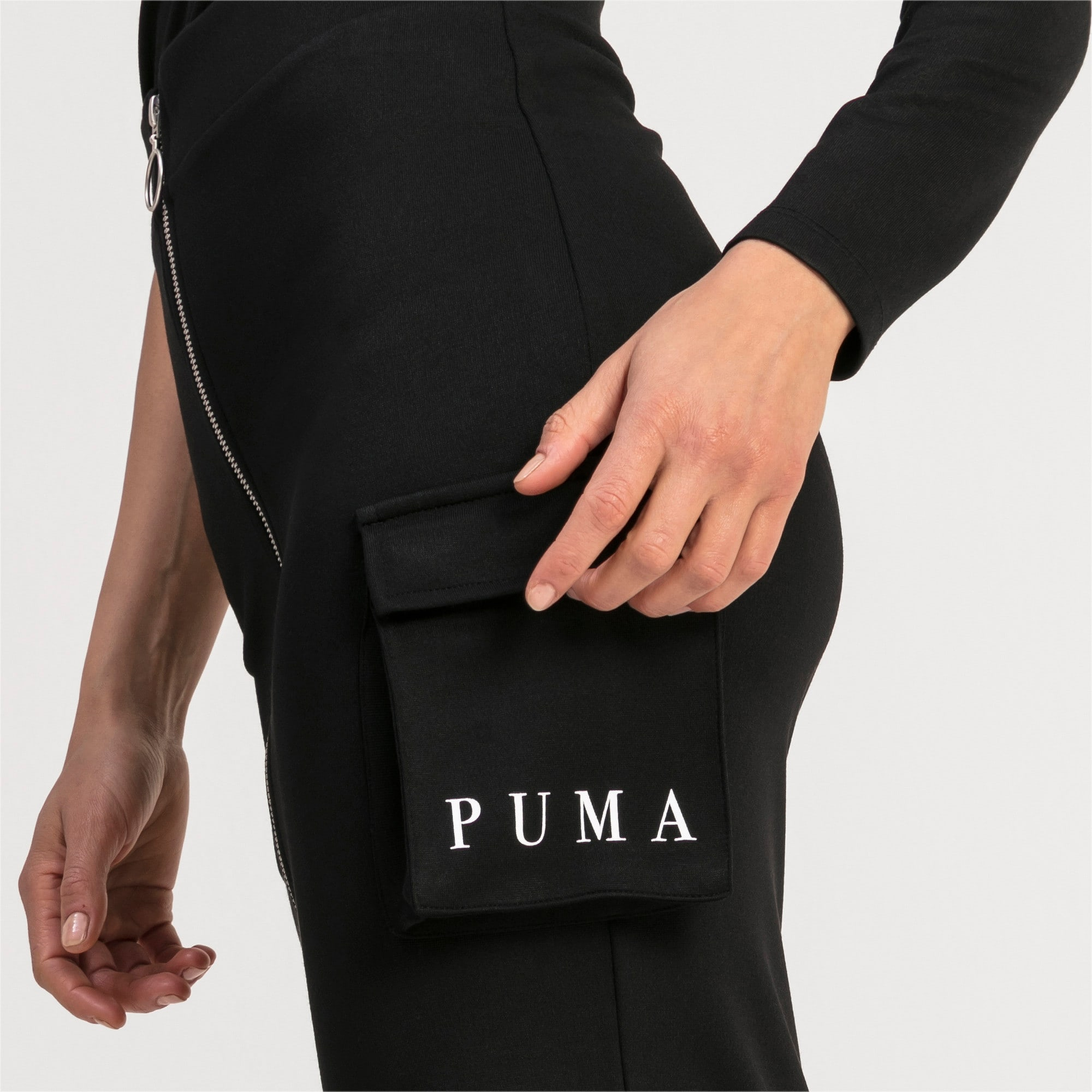 Thumbnail 2 of Damen Midi Rock, Puma Black, medium
