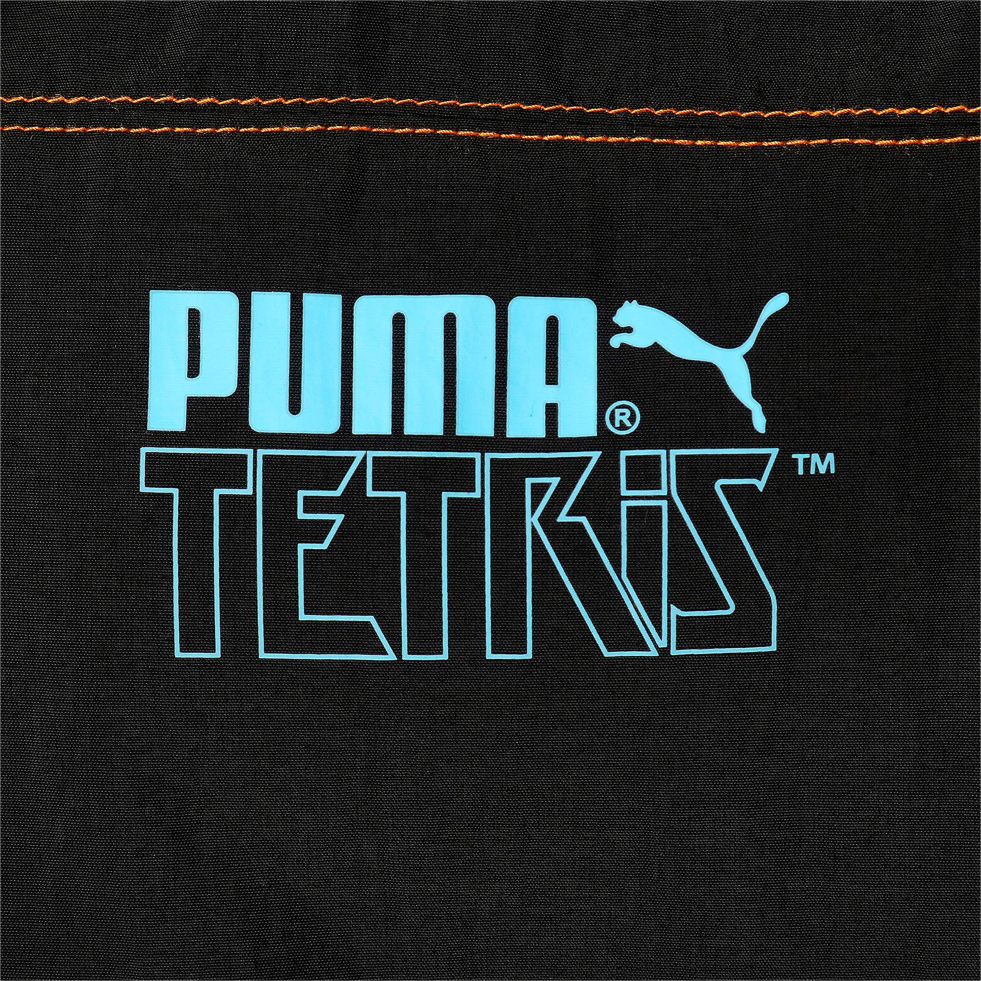 Thumbnail 4 of PUMA x TETRIS ユニセックス トラックジャケット, Puma Black, medium-JPN