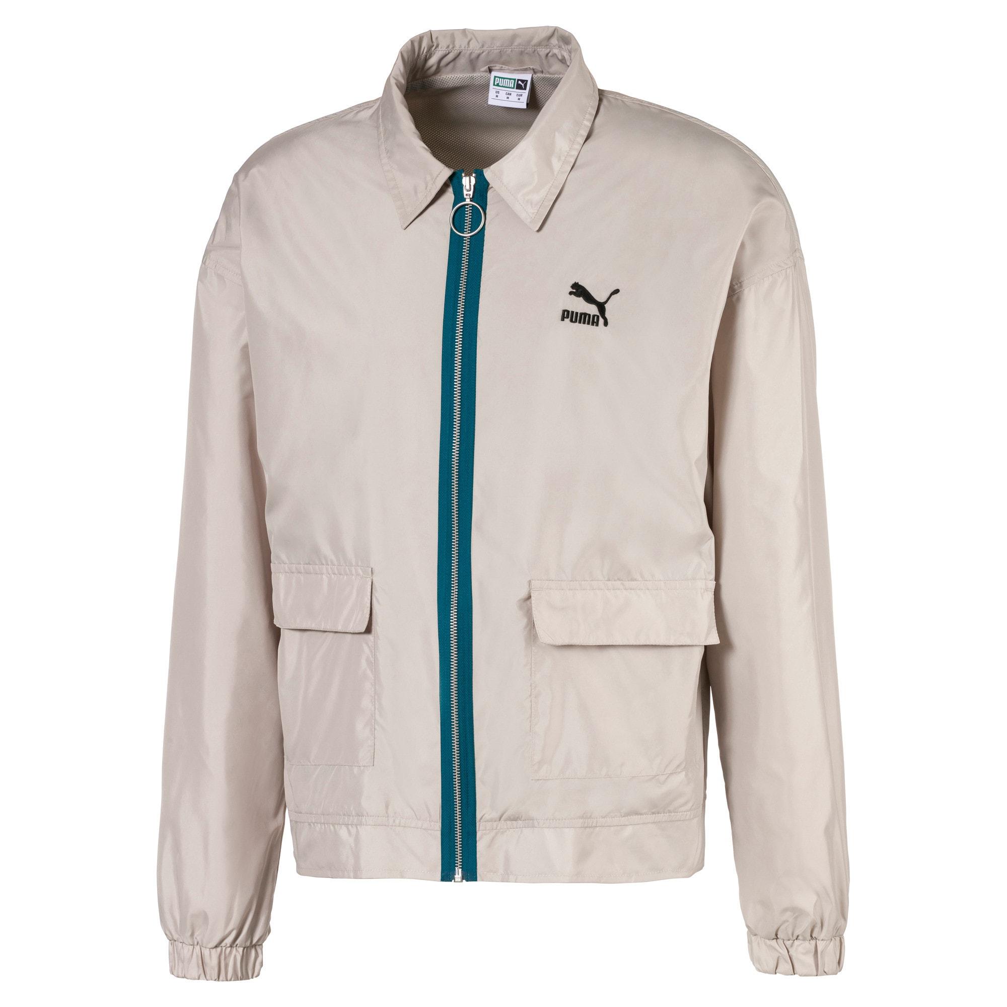 Thumbnail 1 of Lightweight Woven Men's Jacket, Dove, medium