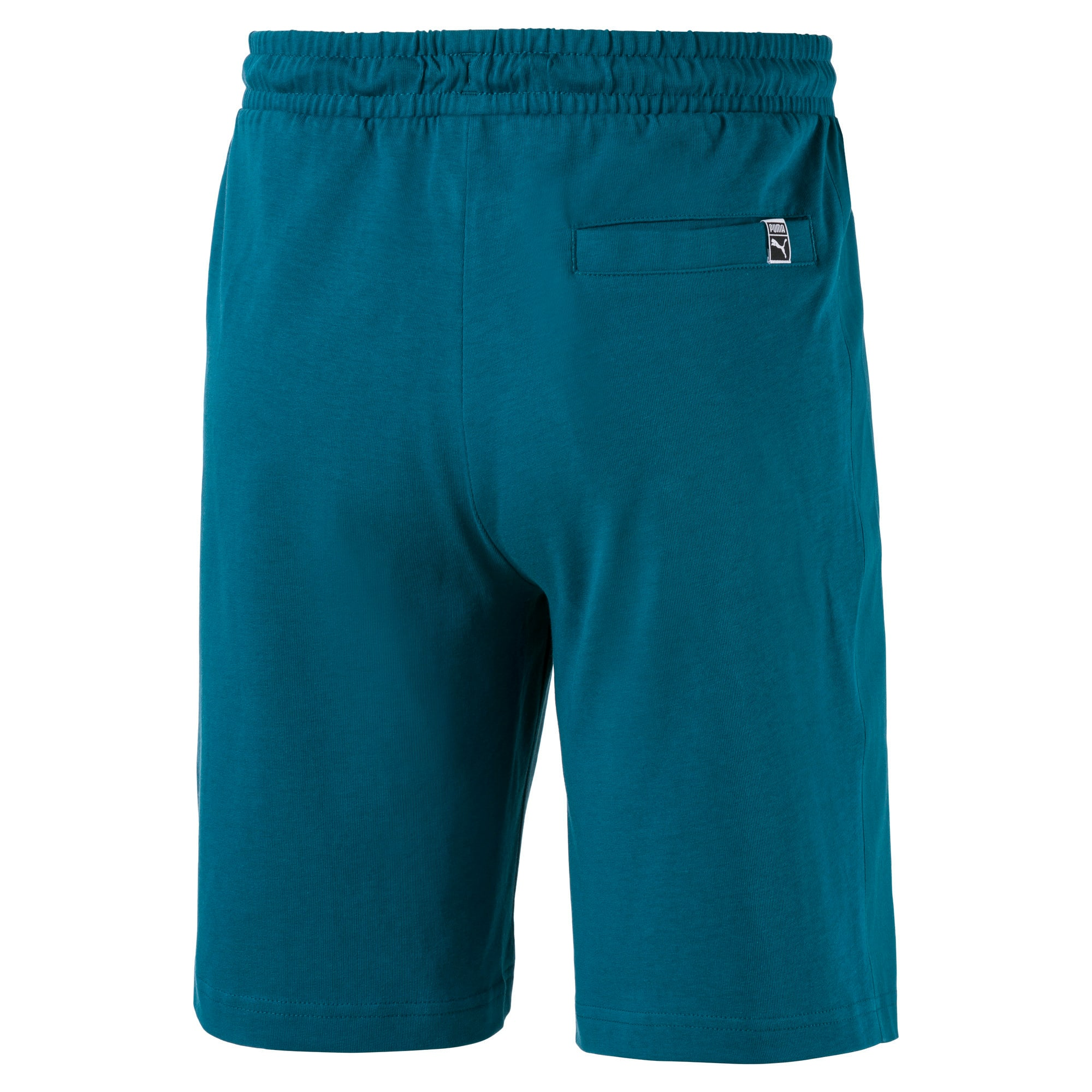 Thumbnail 2 of Jersey Knitted Men's Shorts, Blue Coral, medium