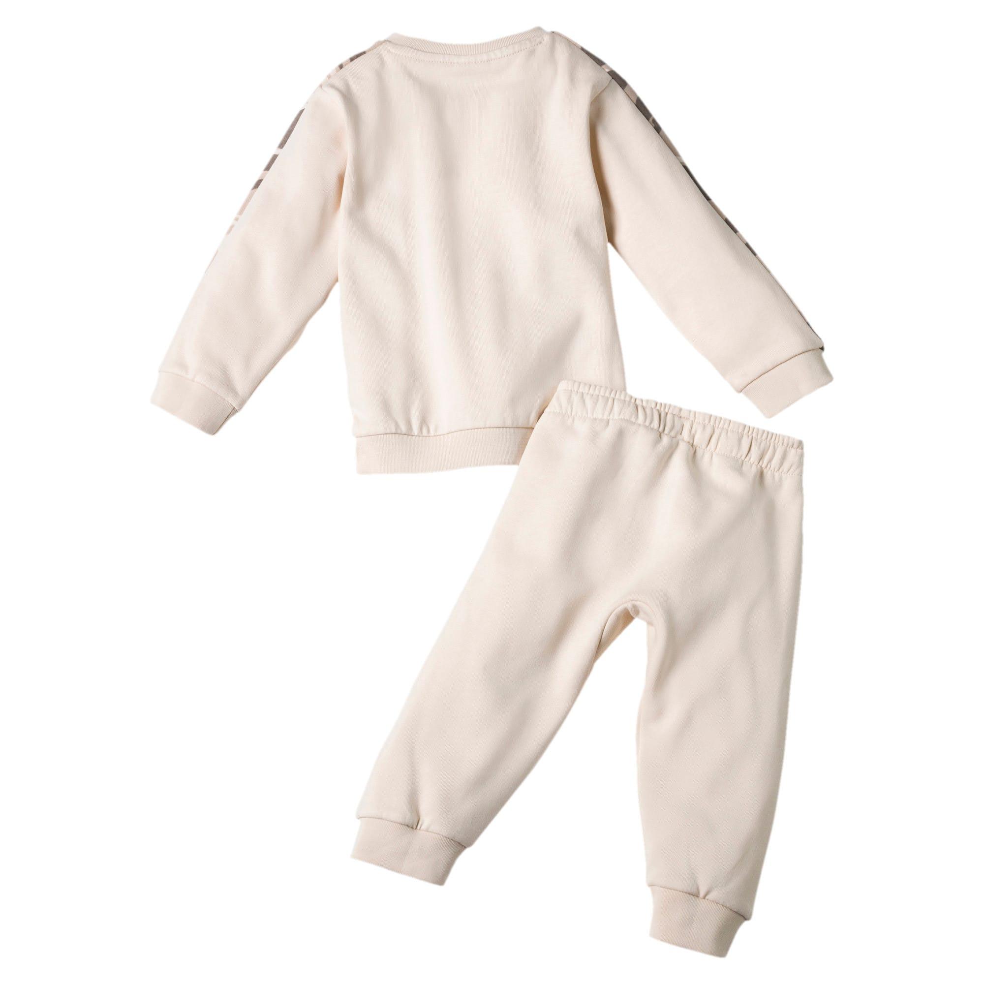 Thumbnail 2 of Streetwear T7 joggingpakje voor baby's, White Swan, medium