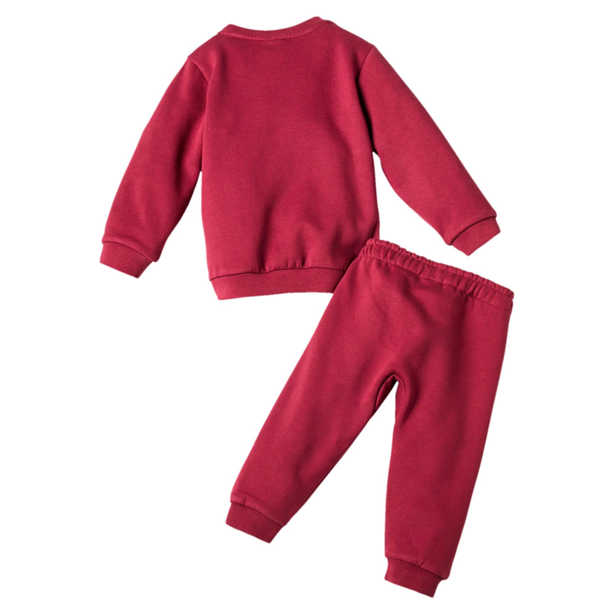 Thumbnail 2 of Streetwear joggingpakje voor baby's, Pomegranate, medium