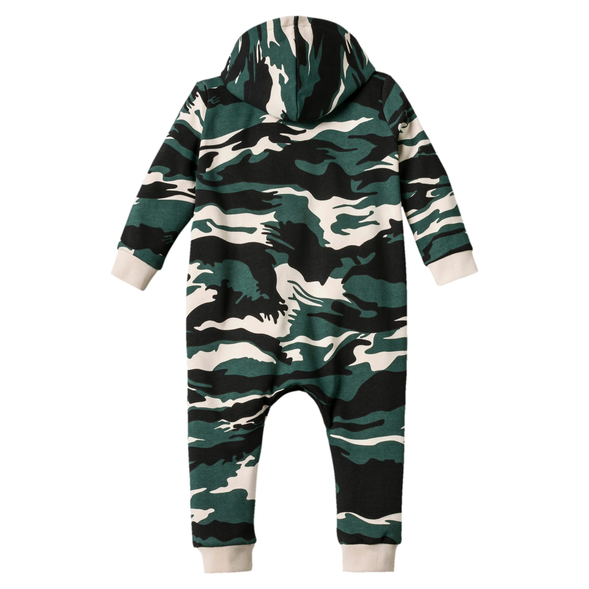 Thumbnail 2 of Street Wear Camo Babies Einteiliger Anzug, Bistro Green-AOP, medium