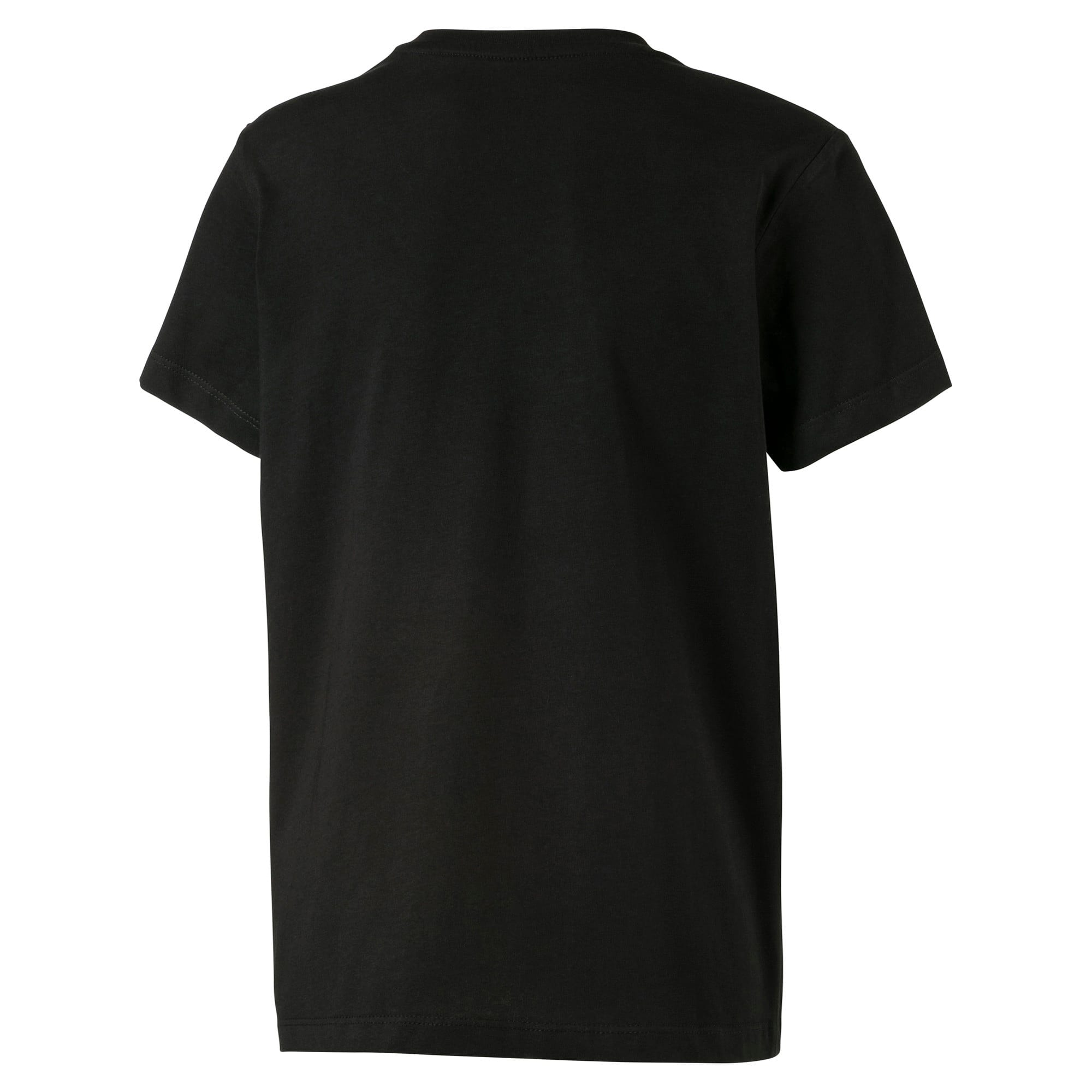 Thumbnail 2 van Streetwear T-shirt met logo voor kinderen, Puma Black, medium
