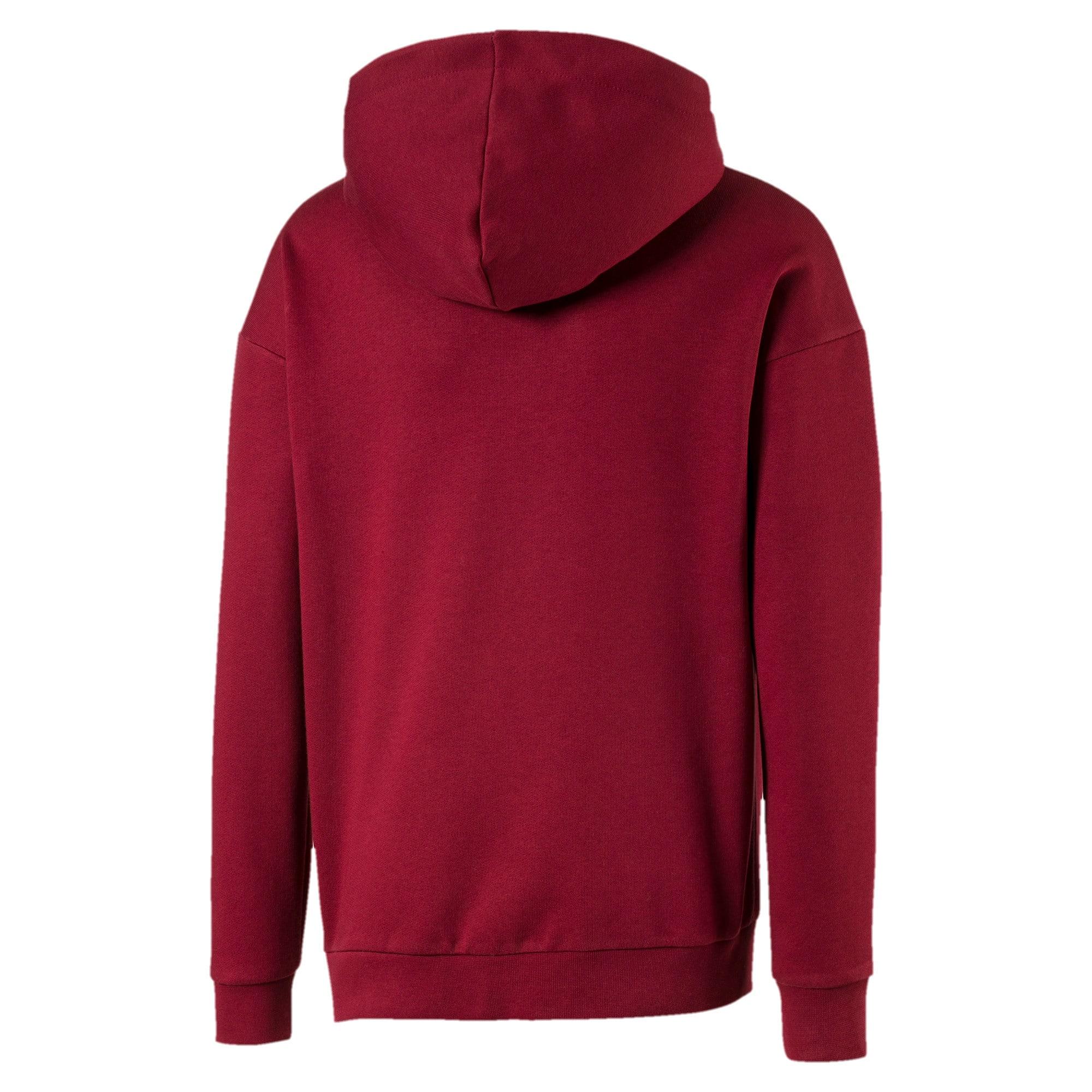 Thumbnail 2 van Streetwear hoodie met logo voor kinderen, Pomegranate, medium