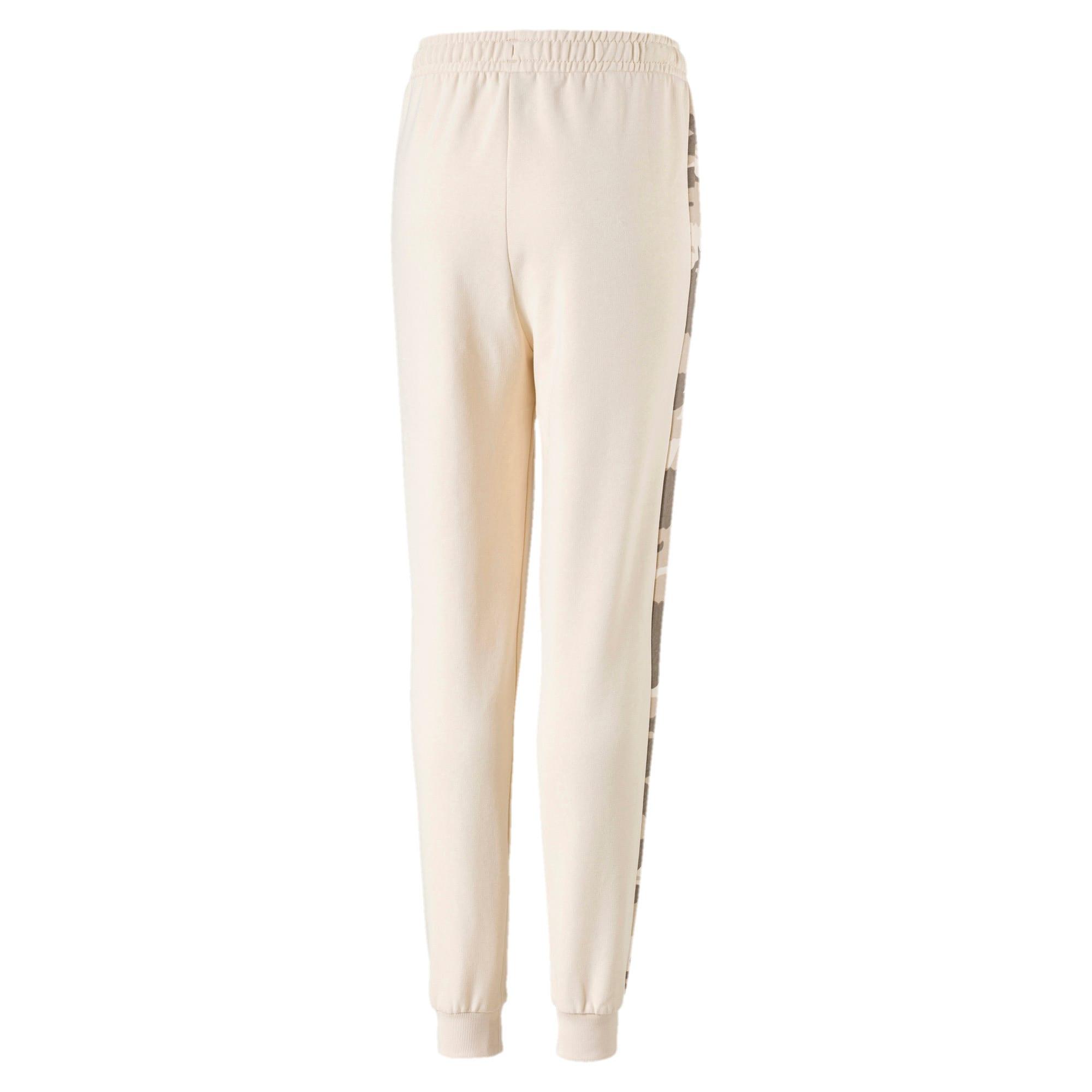 Thumbnail 2 of Toelopende streetwear sweatpants voor kinderen, White Swan, medium