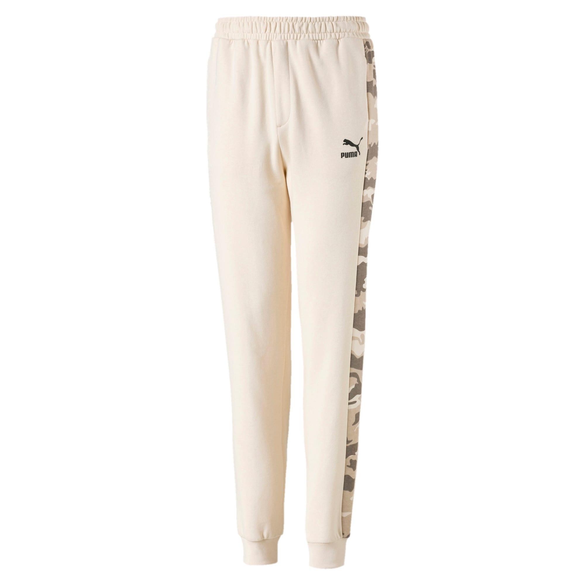 Thumbnail 1 of Toelopende streetwear sweatpants voor kinderen, White Swan, medium