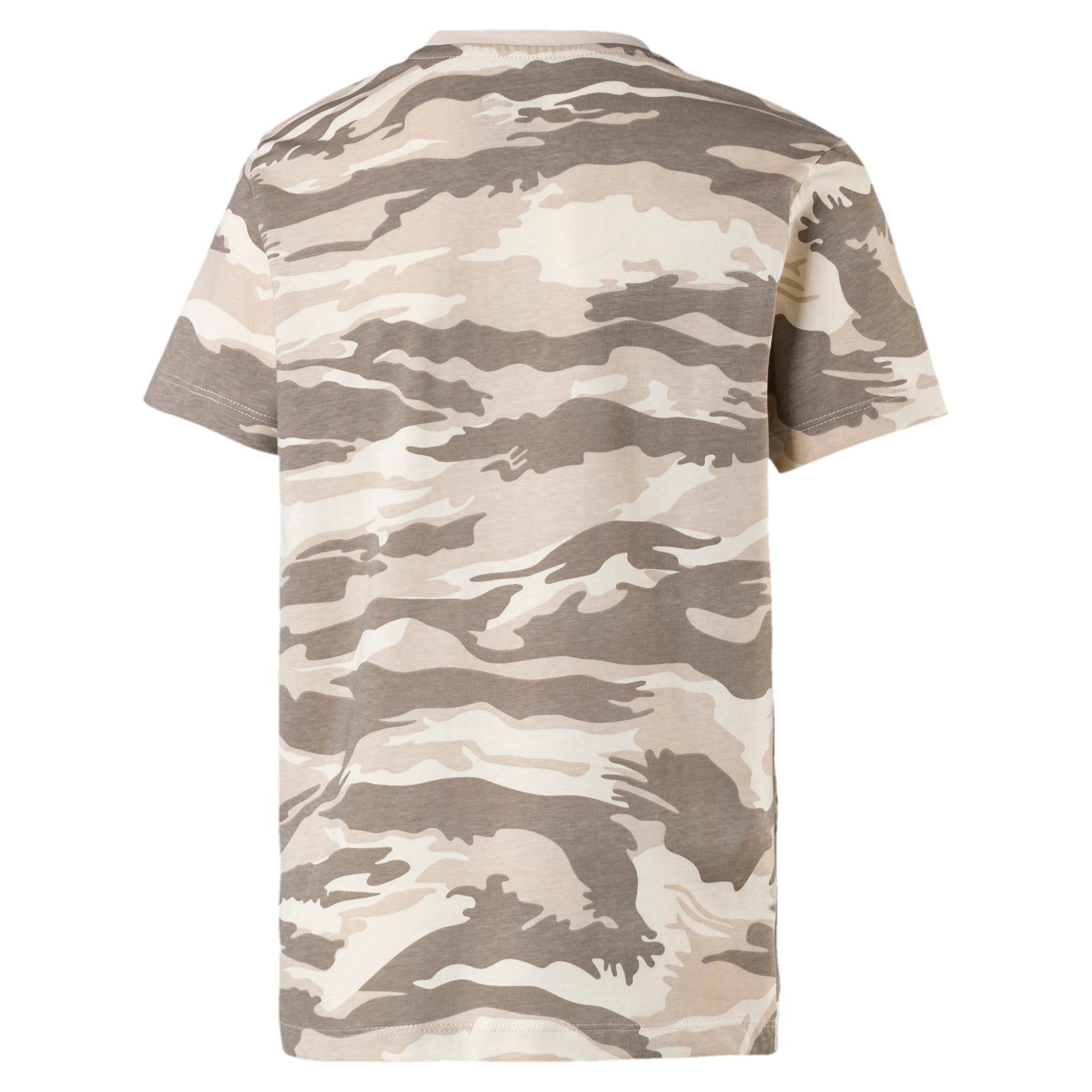 Thumbnail 2 of Streetwear T-shirt met camouflage voor kinderen, White Swan-AOP, medium