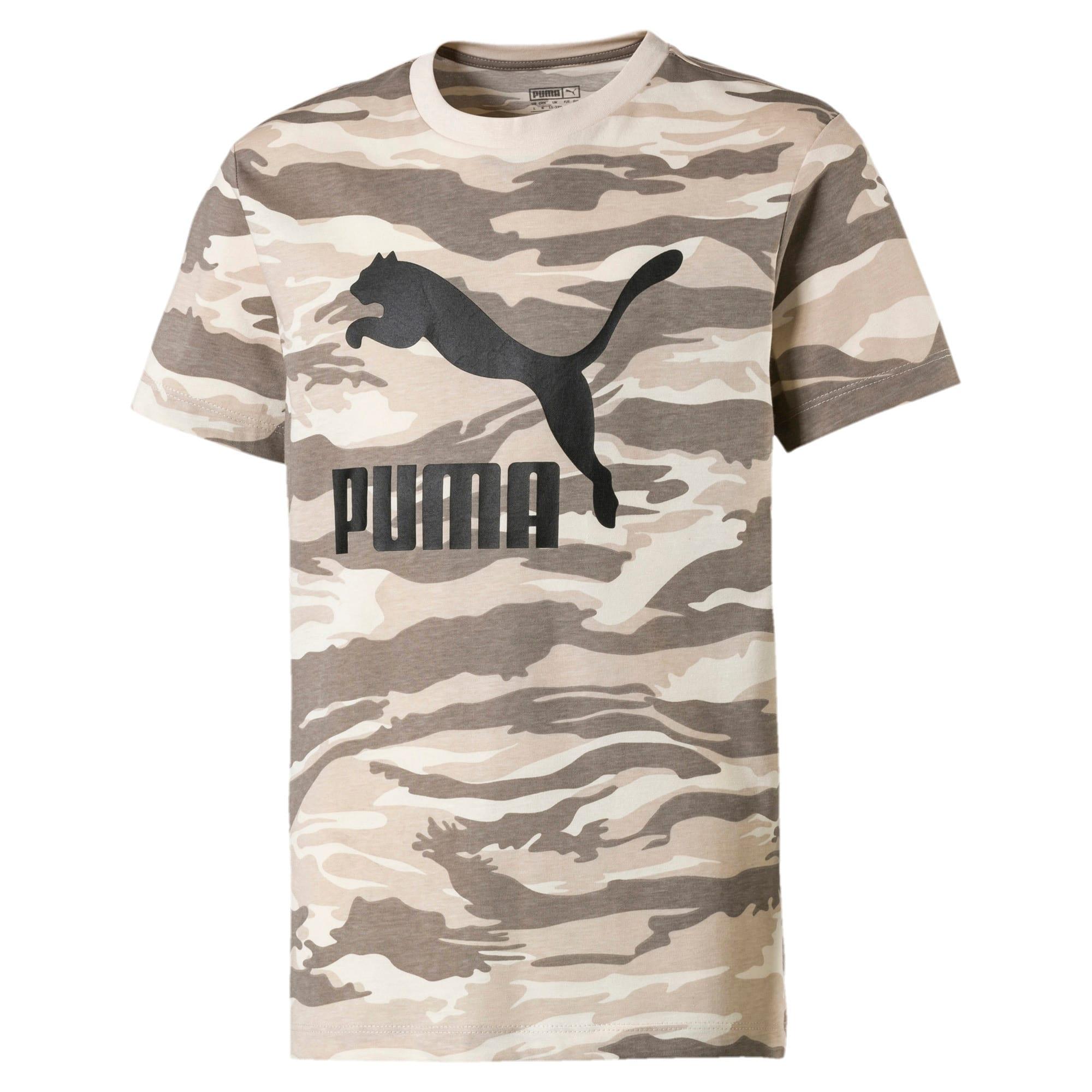 Thumbnail 1 of Streetwear T-shirt met camouflage voor kinderen, White Swan-AOP, medium