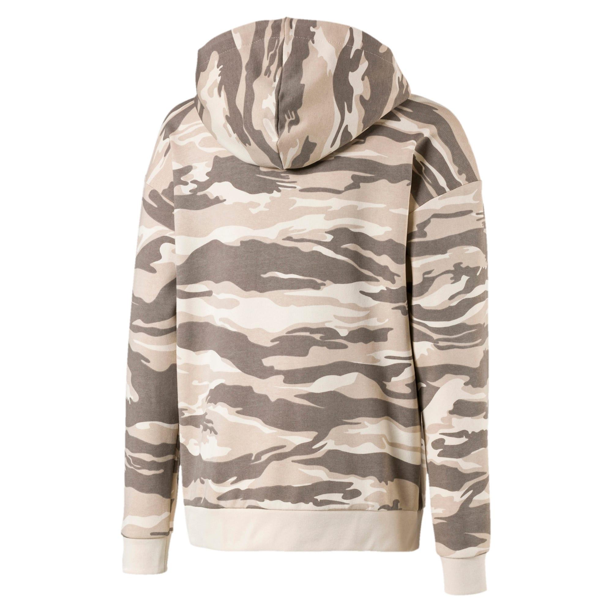 Thumbnail 2 of Streetwear hoodie met camouflage voor kinderen, White Swan-AOP, medium