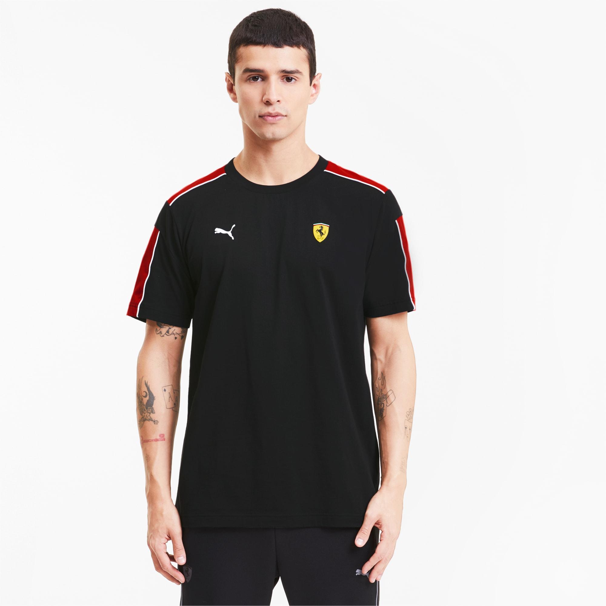 Scuderia Ferrari Race T7 Herren T Shirt Puma Black Puma Shoes Puma österreich