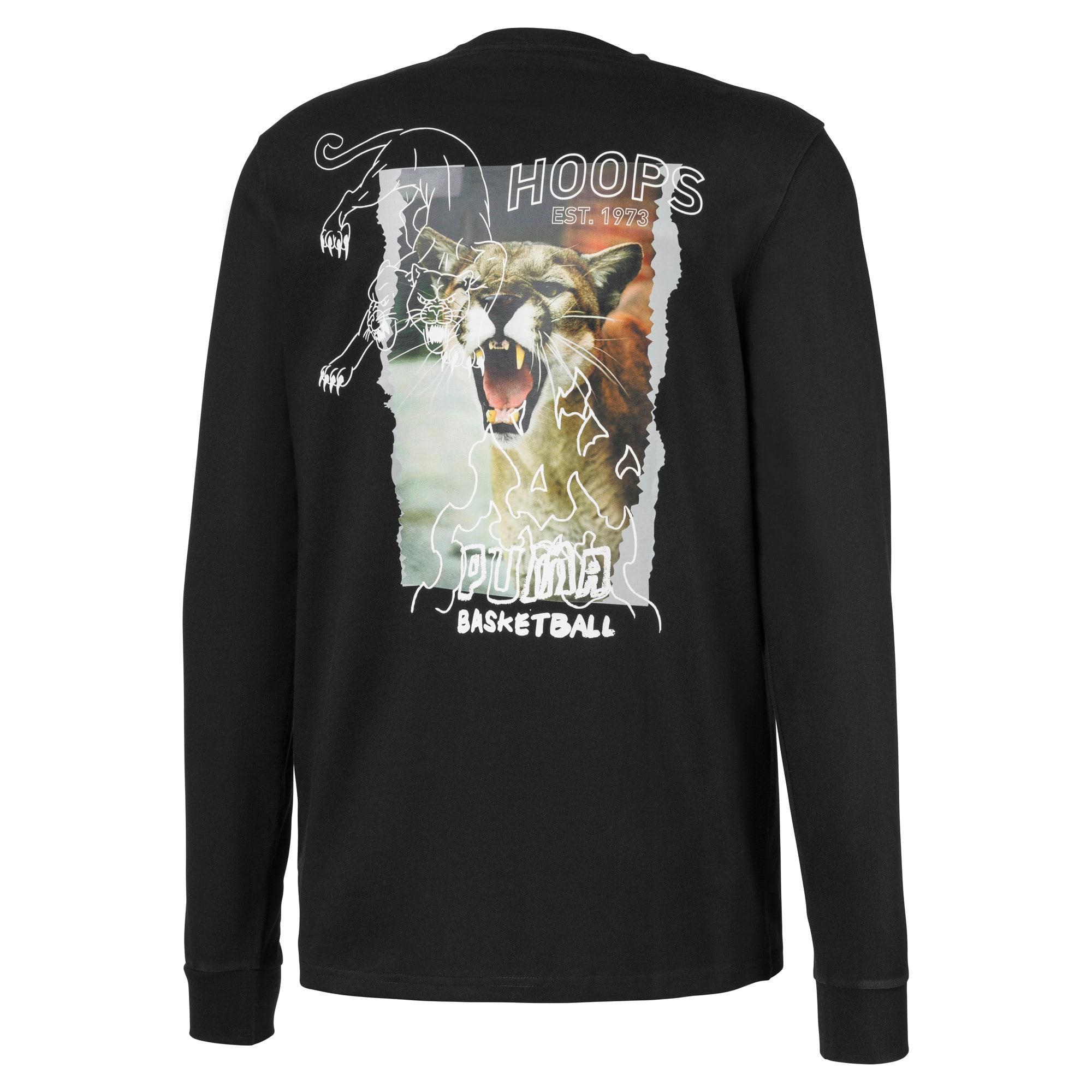 Miniaturka 2 Męska koszulka z długim rękawem Don't Flinch, Puma Black, średnie
