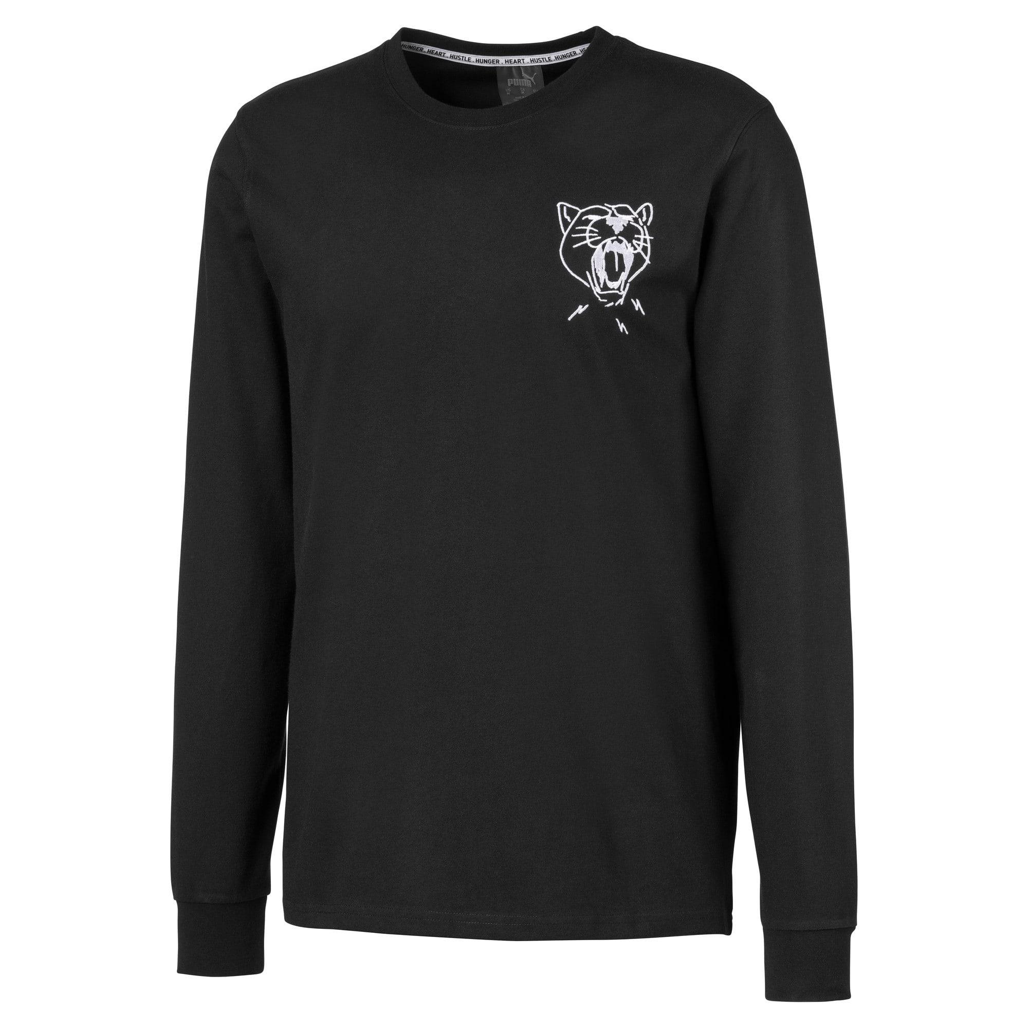 Miniaturka 1 Męska koszulka z długim rękawem Don't Flinch, Puma Black, średnie