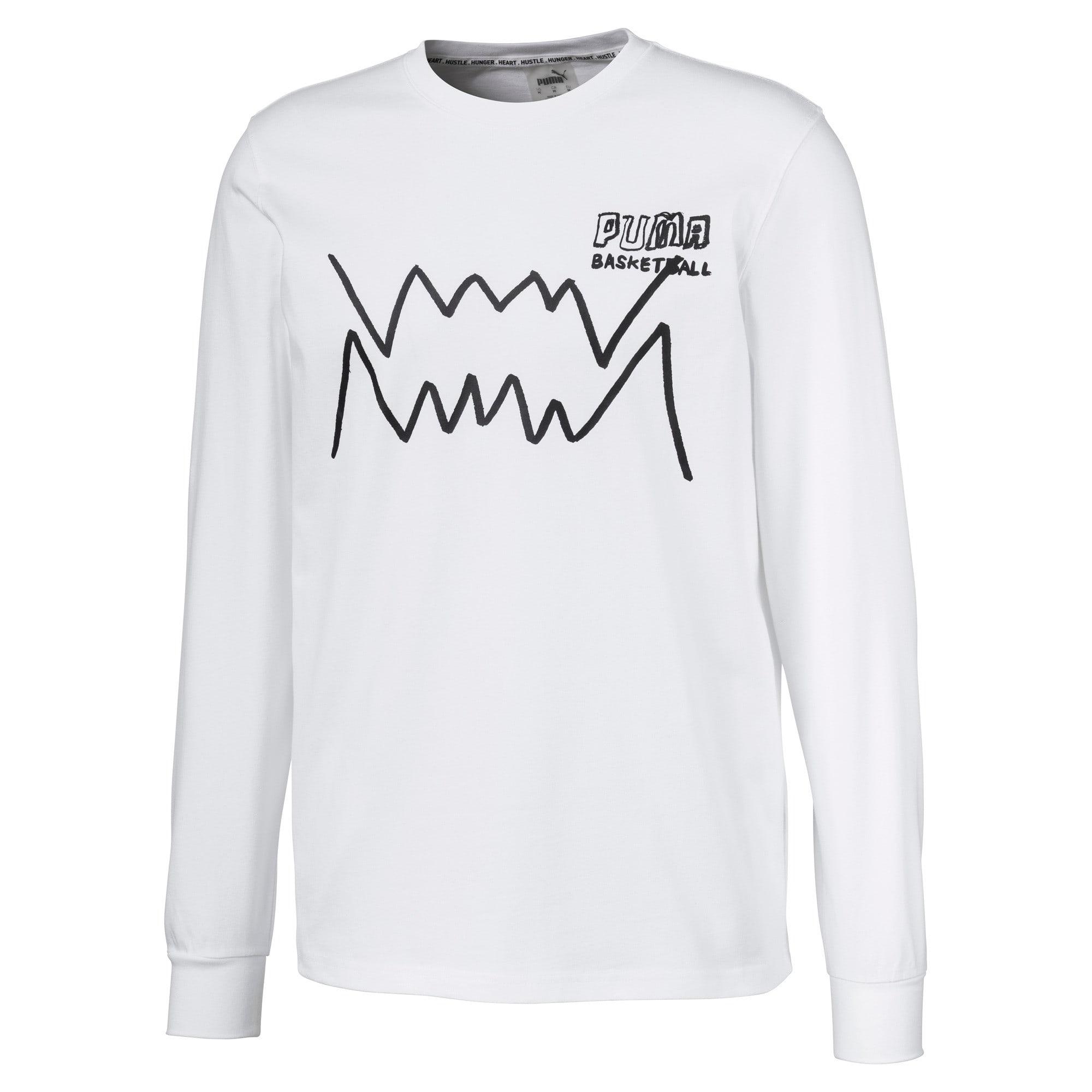 Miniaturka 1 Męska koszulka z długim rękawem Bite, Puma White, średnie