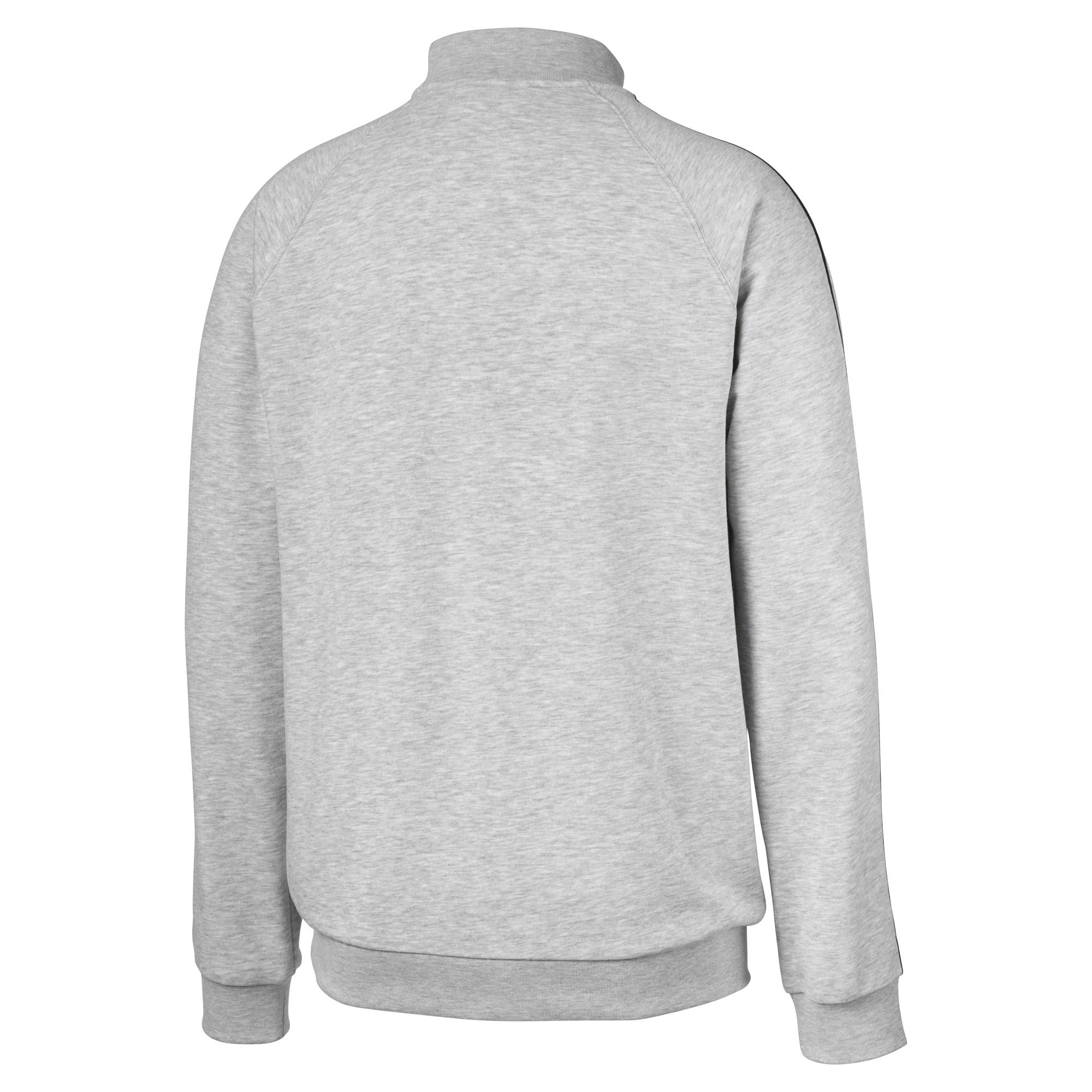 Thumbnail 2 of Evolution Half Zip Men's Sweater, Light Gray Heather, medium